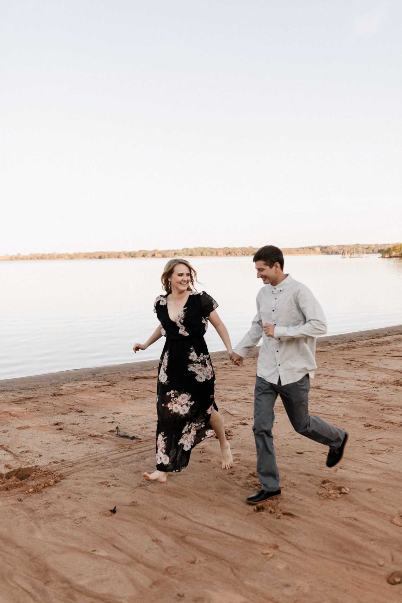 Kyle + Brittany | Fall Lake Engagement Photos | Oklahoma Lifestyle Photographer-11.jpg