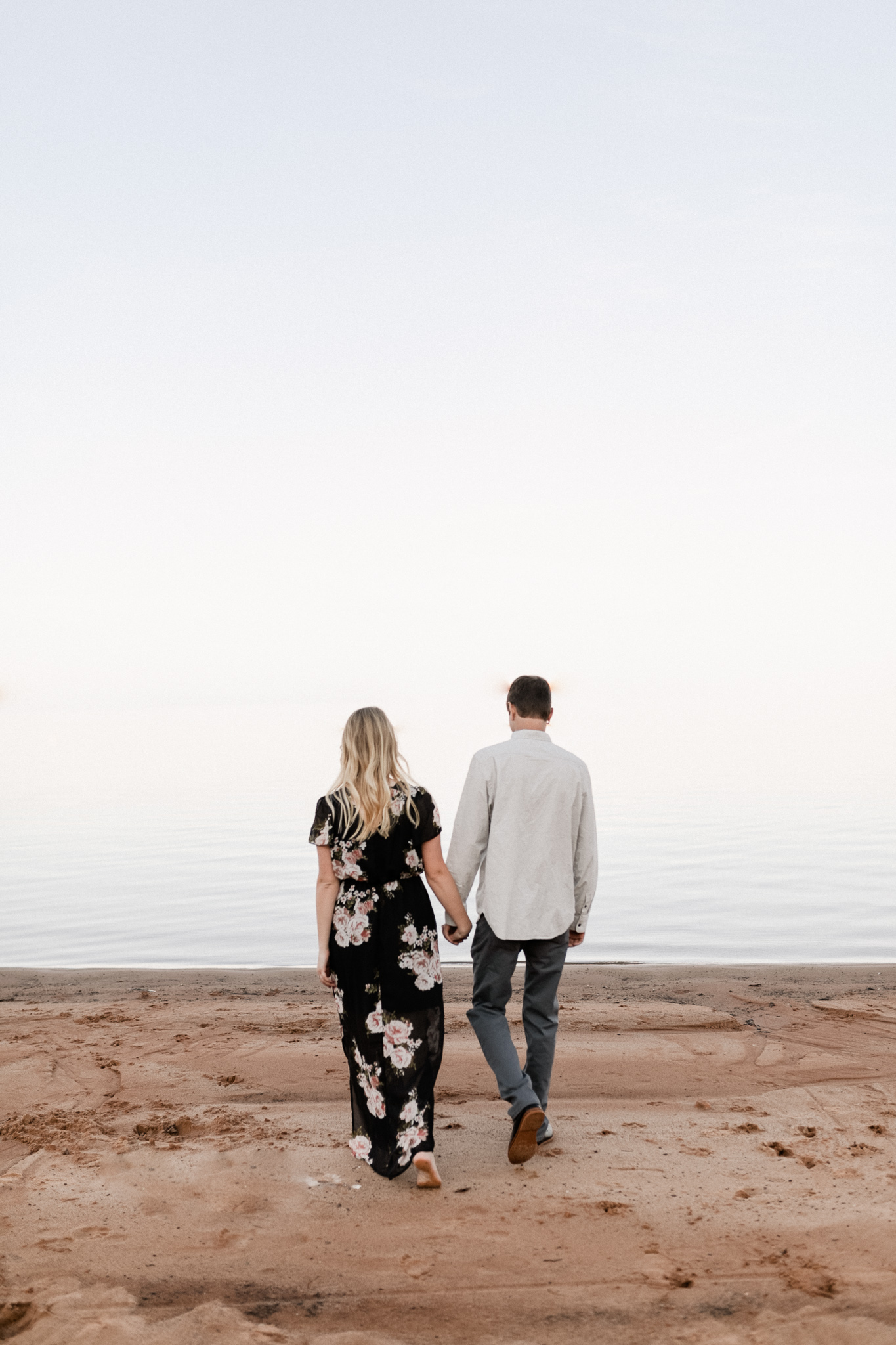 Kyle + Brittany | Fall Lake Engagement Photos | Oklahoma Lifestyle Photographer-13.jpg