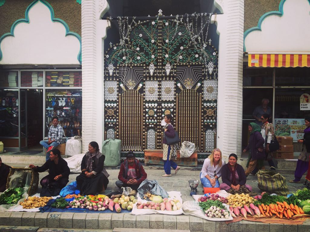 Food nerd fact: I'd get excited when I came across vege markets while travelling - This was in Northern India, Leh, Ladakh - Where an influential local Monk promotes the practice of organic farming to improve the health of their food and reduce the increasing health concerns in the region. How awesome is that!