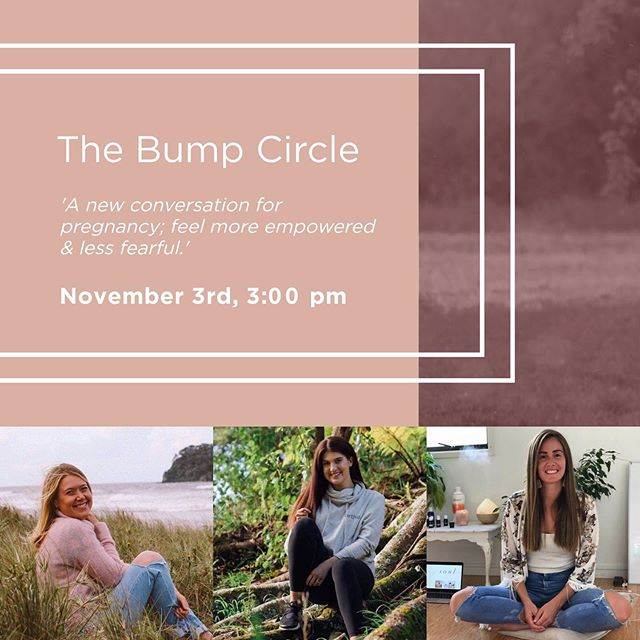 A pregnancy event of a different kind!  For me pregnancy is a learn on the job kind of situation and I quickly realized all of our journeys are so different and that's why connecting with others, is so helpful!  So many things to consider, from food to mood to managing all the weird new things happening mentally and physically!  Together with two beautiful soon to be mamas and experts in their own fields @livewellwith_corinne and @brittmcnabb we've created - The Bump Circle - an event that combats pre-natal loneliness, building conscious, supportive connections. We will also share some self-love + nourishment hacks for the miracle that is your body - in all it's shapes, sizes & colours!  Held at @brthe.loft in Parnell  We will start with a guided, calming meditation, and then dive into personal stories and an open question format. All guided conversations, will be navigated with a foundation of positivity!  If you are currently pregnant & are wanting to break away from the age old stories of how others believe pregnancy is or should be, and instead create & write your own story - this event is for you!  This is a one off intimate event so grab your spot before it fills up, by heading to the link in my bio ❤️ Know someone who might love this! Tag a gal x