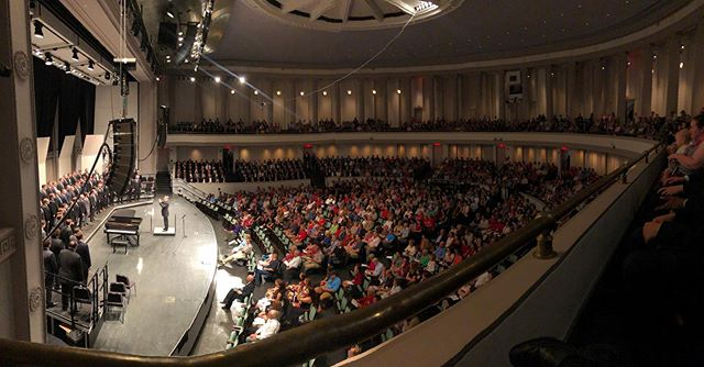8 decades of Glee on one stage. 150 years of fantastic music. Our most sincere thanks to everyone who participated in and attended today's concert!