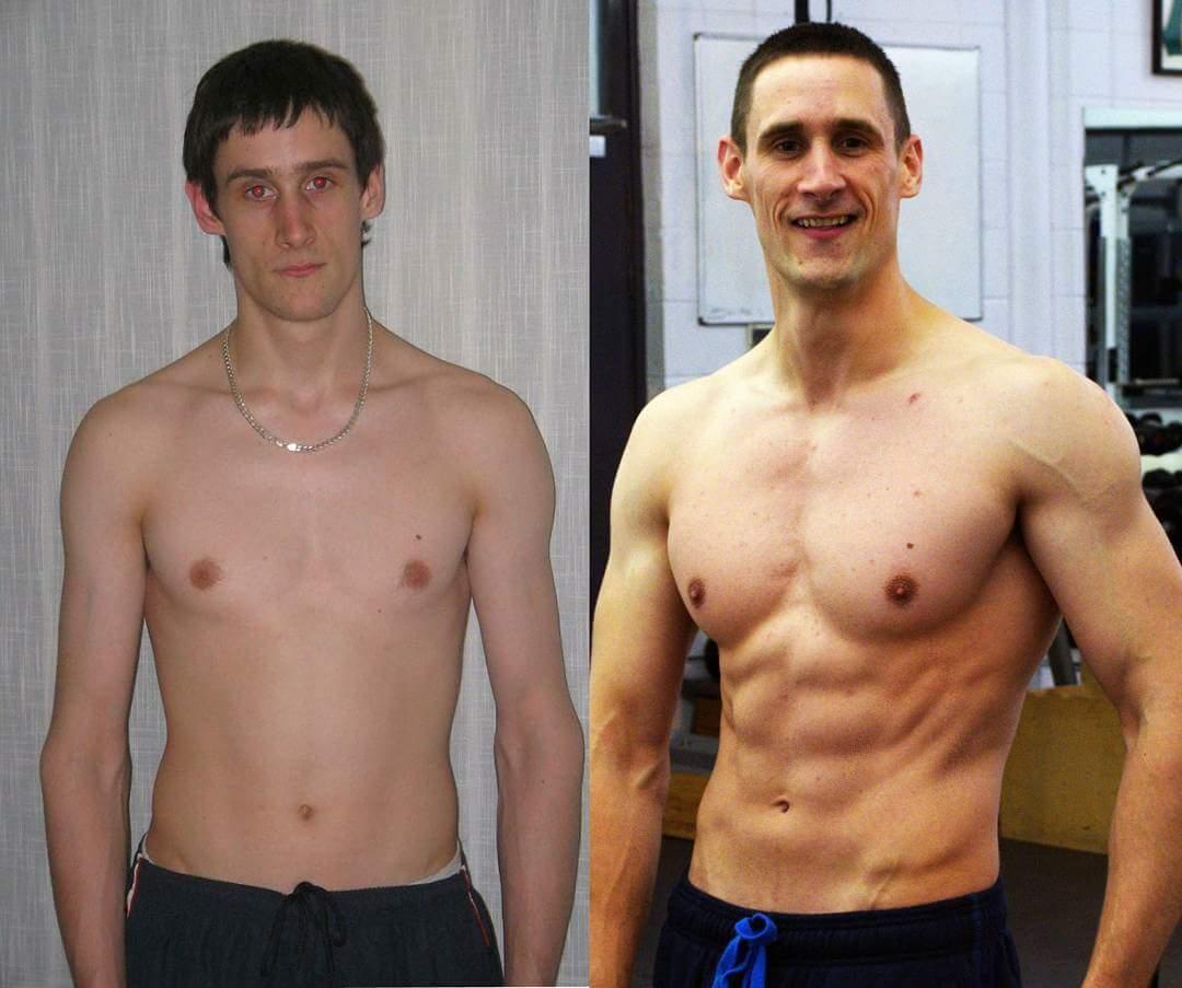Sean's dramatic transformation