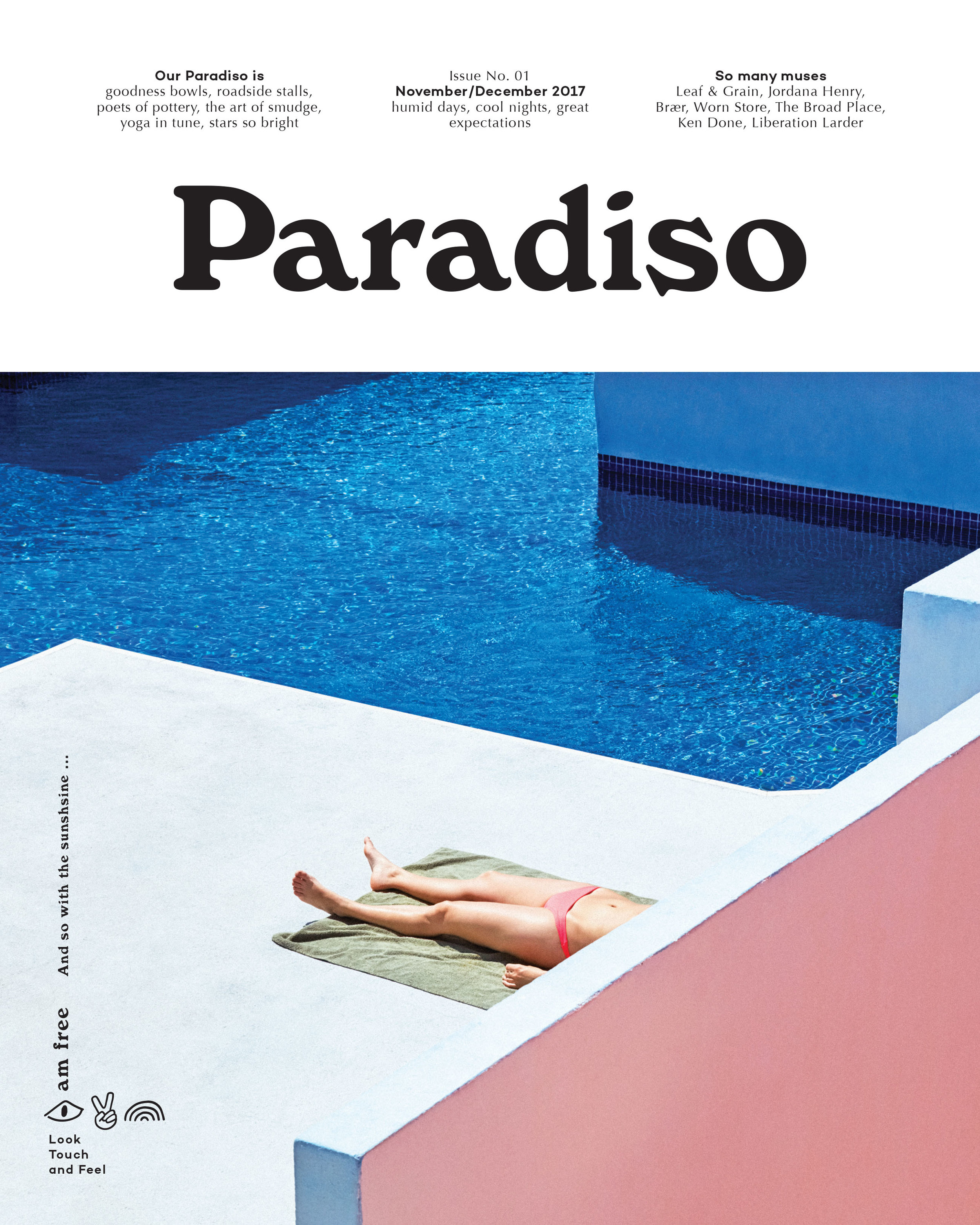 Paradiso Issue 01: And so with the sunshine …