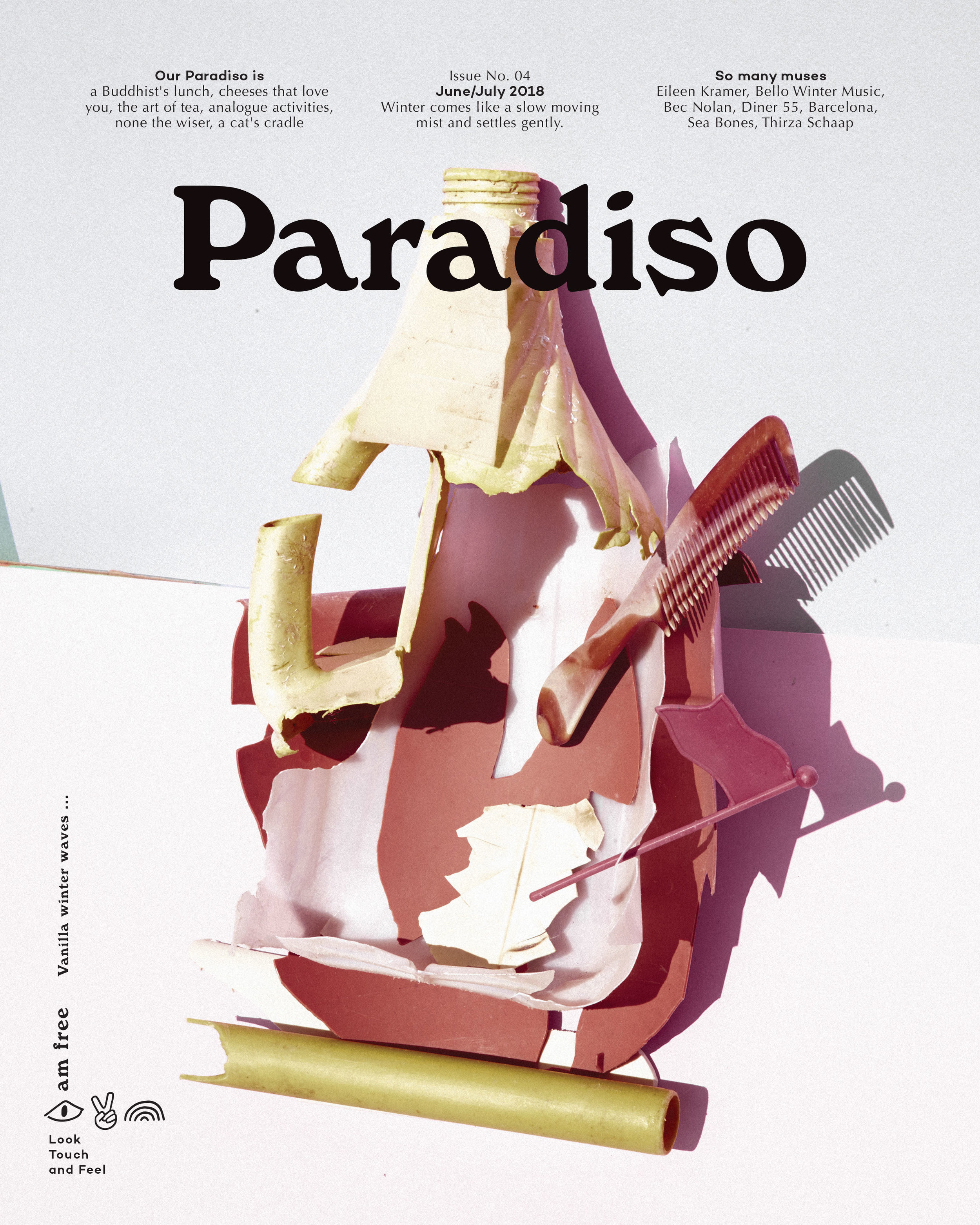 Paradiso Issue 04: Vanilla winter waves ...