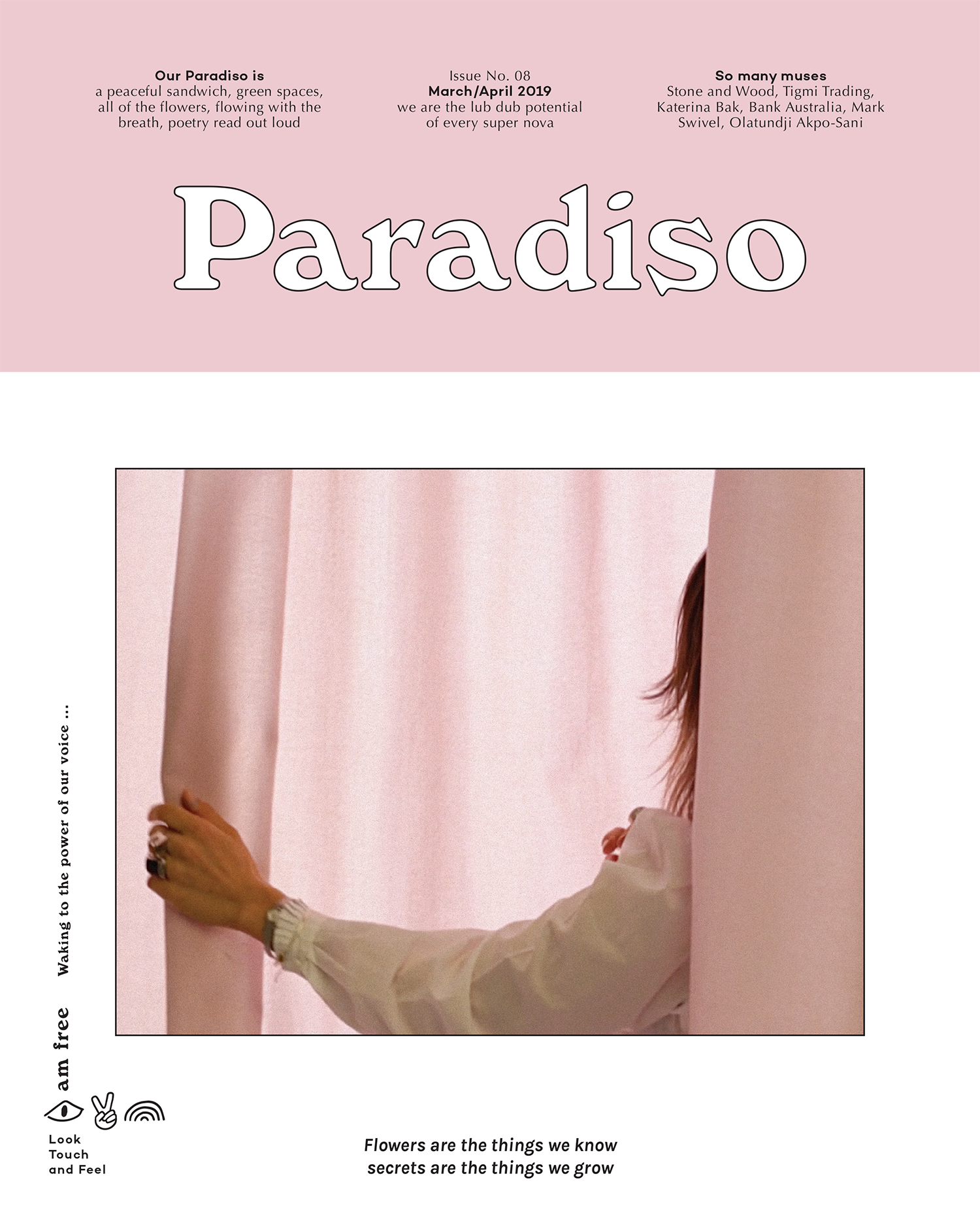 Paradiso Issue 08: Waking to the power of our voice ...
