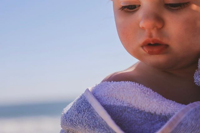 Those little lips. #beachbaby #oneyearold