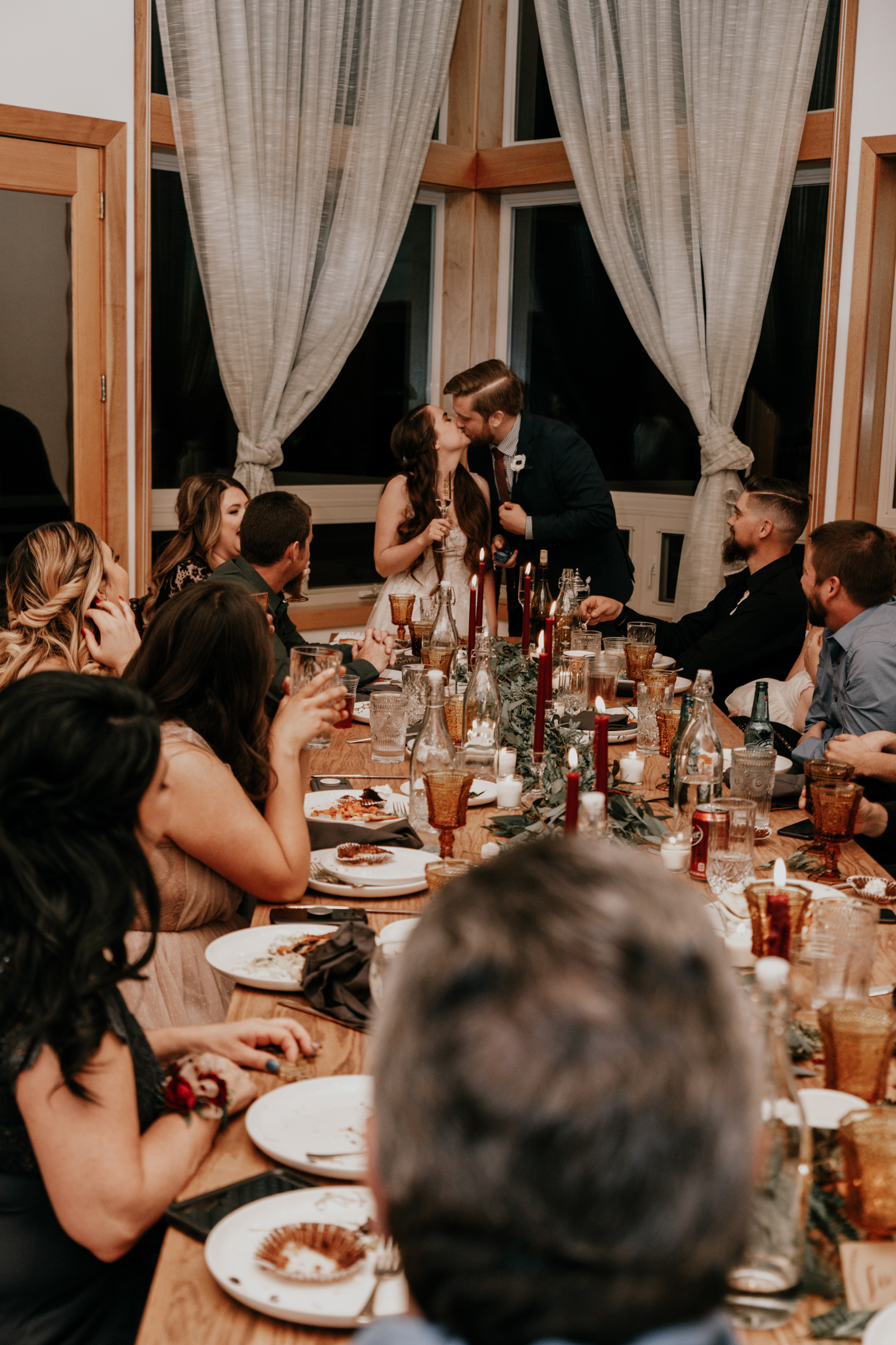 reception dinner | Idyllwild CA