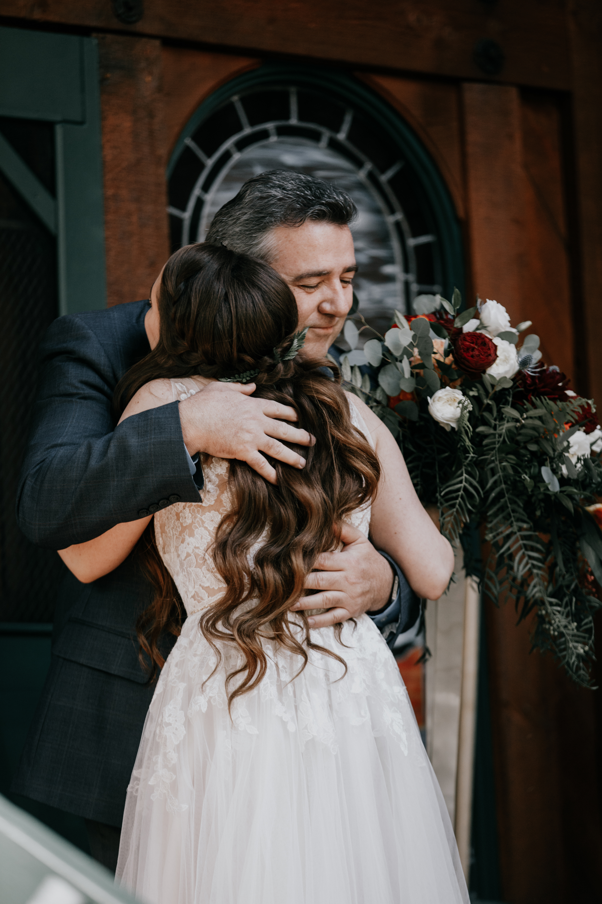 father daughter moments | wedding day