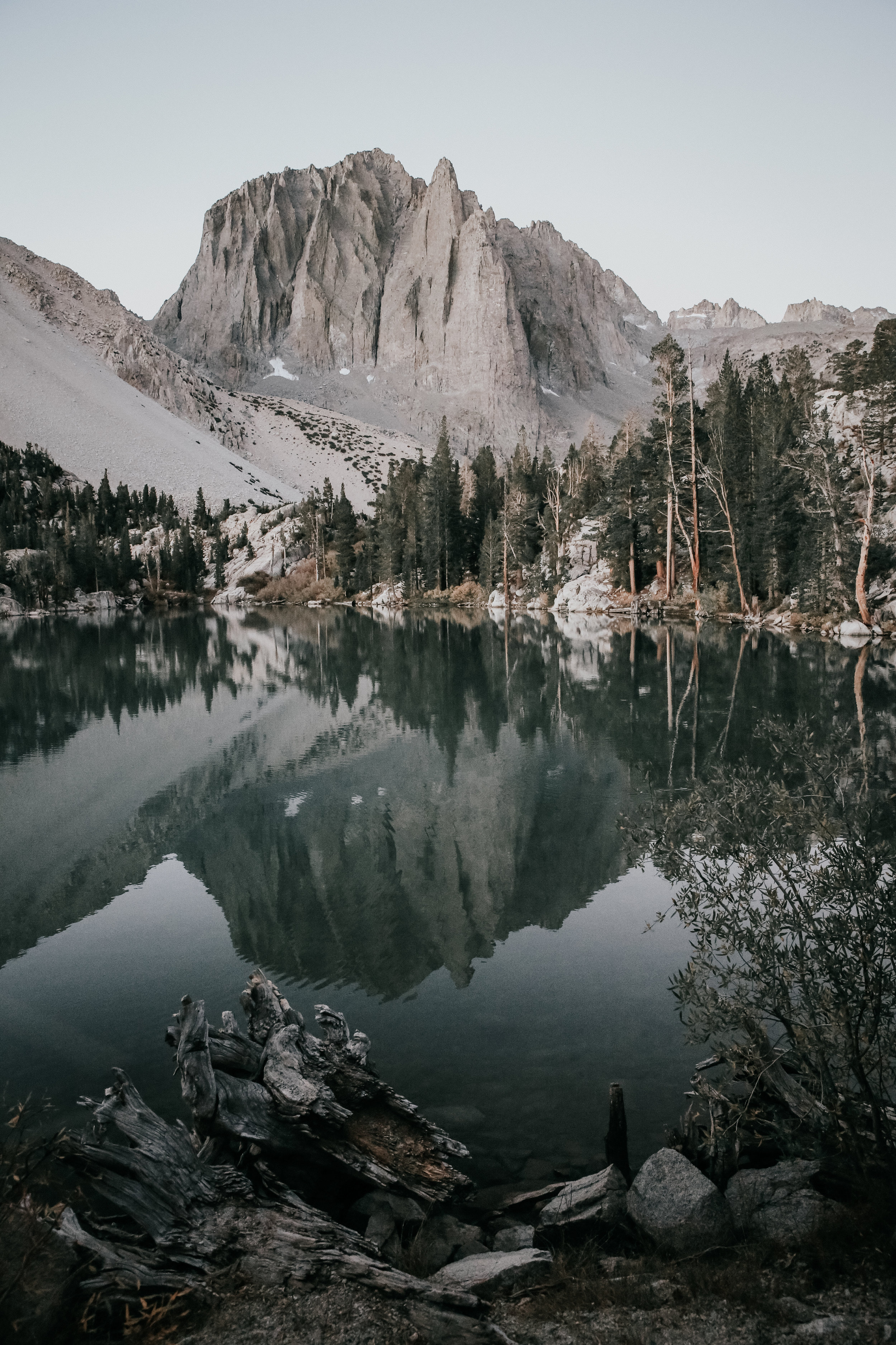 Morning views in the Sierras