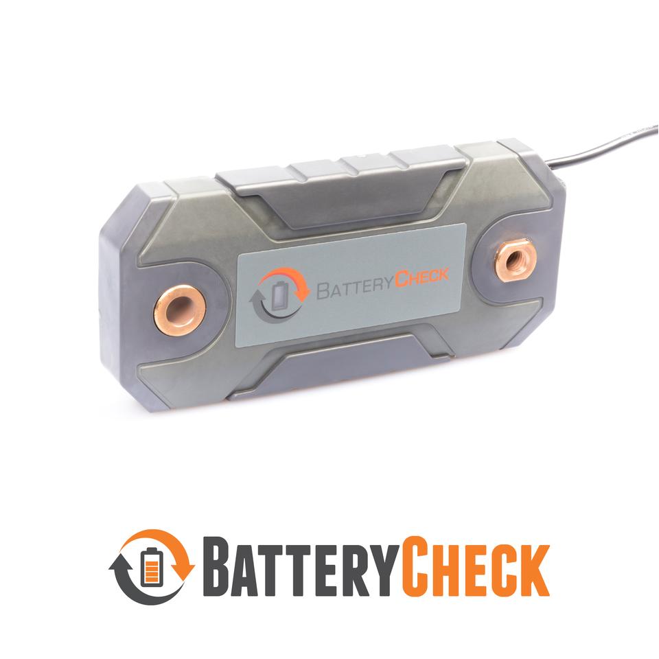 RV caravan battery monitor