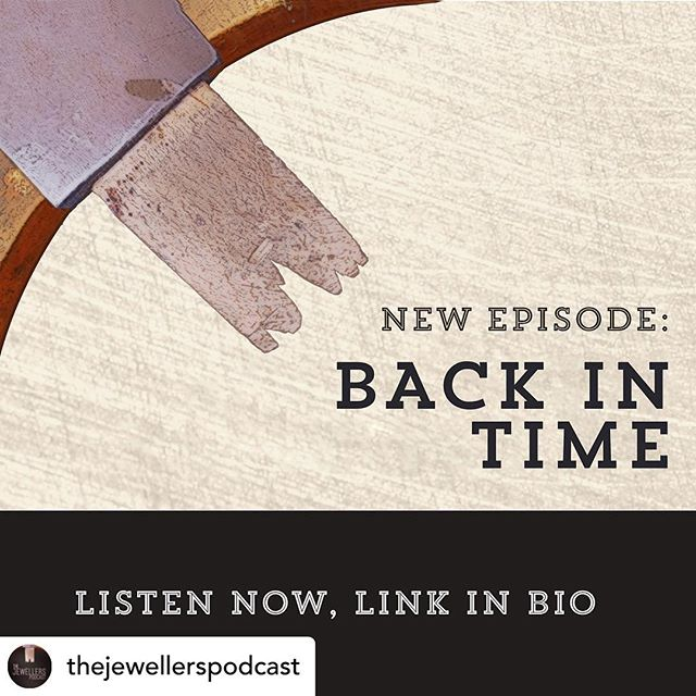 Recorded in our studio, check out @thejewellerspodcast latest episode!