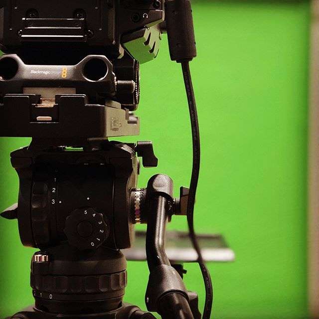 Setting up for a studio shoot day. #greenscreen #studio #youtube #studiohire