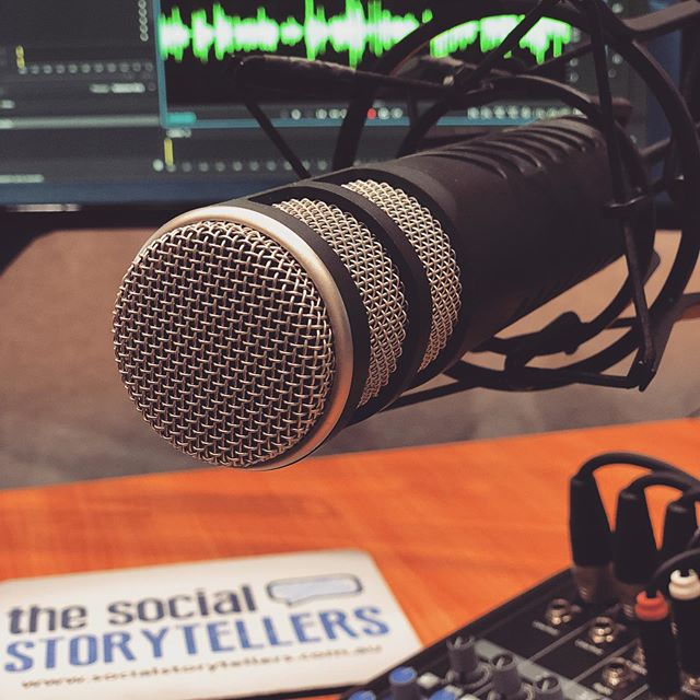Make those thoughts of starting your own podcast a reality. Book time in our recording studio today. socialstorytellers.com.au . . . #podcast #podcasts #aussiepodcast #podcaststudio #studiohire #sydneystudio #audiorecording #sydneypodcast