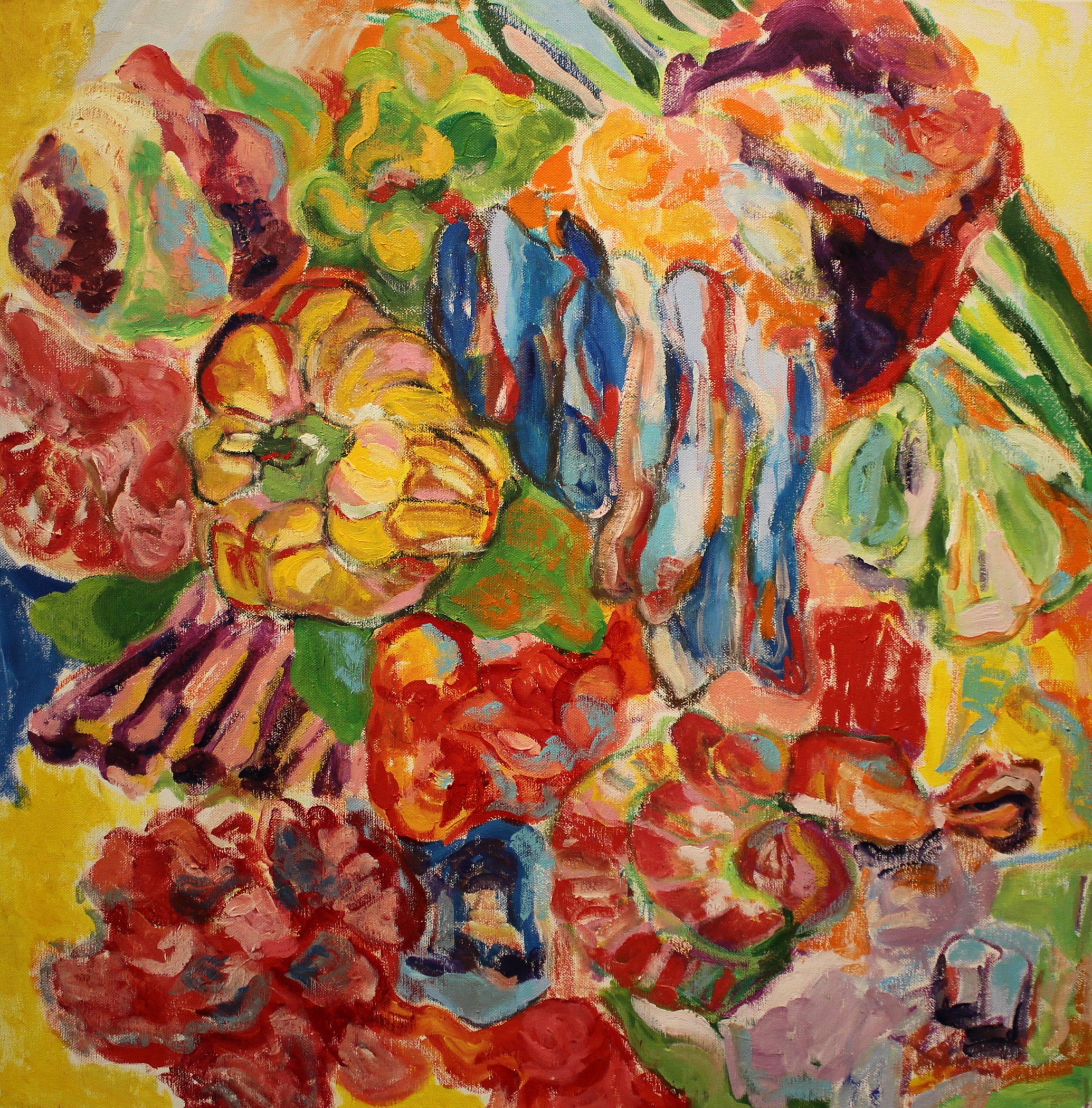 Jenna Bao_Yellow Pepper and Blue Bacon_2016_oil and pastel on canvas_24%22x24%22.jpg