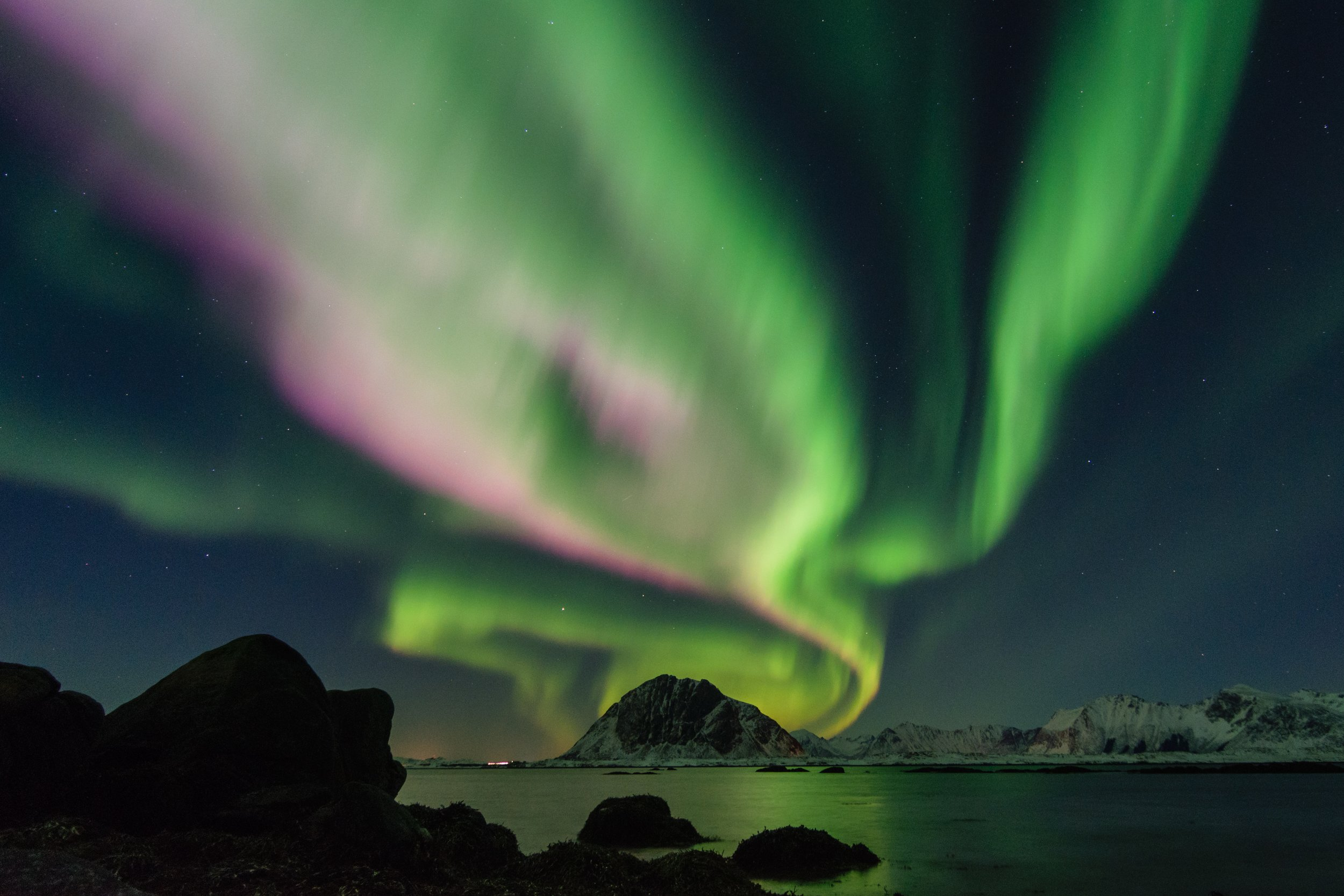 The Northern Lights. Blog by John Emanuel