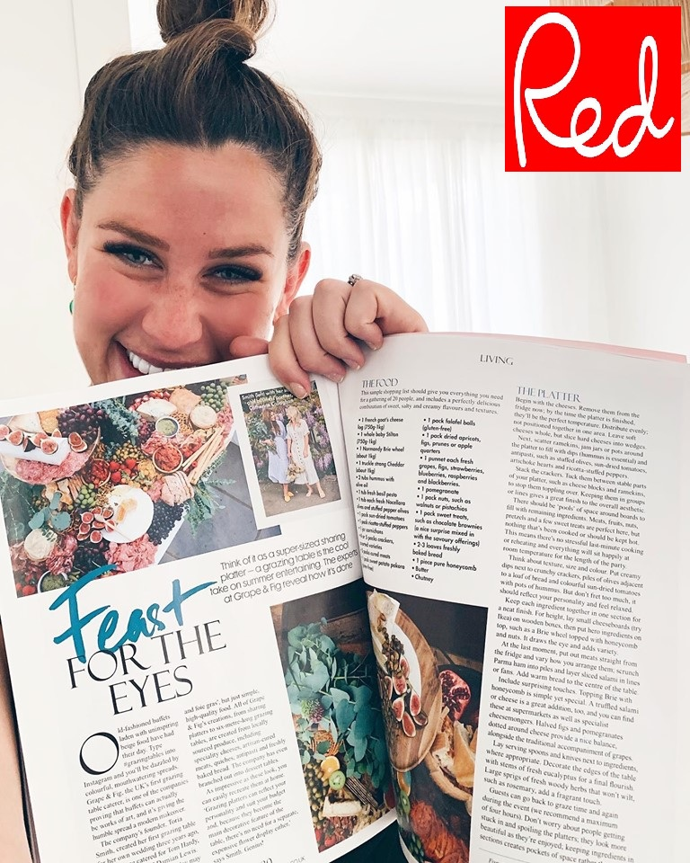 RED MAGAZINE, JULY 2019