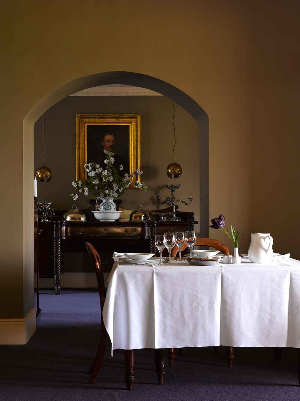 gregans castle dining room