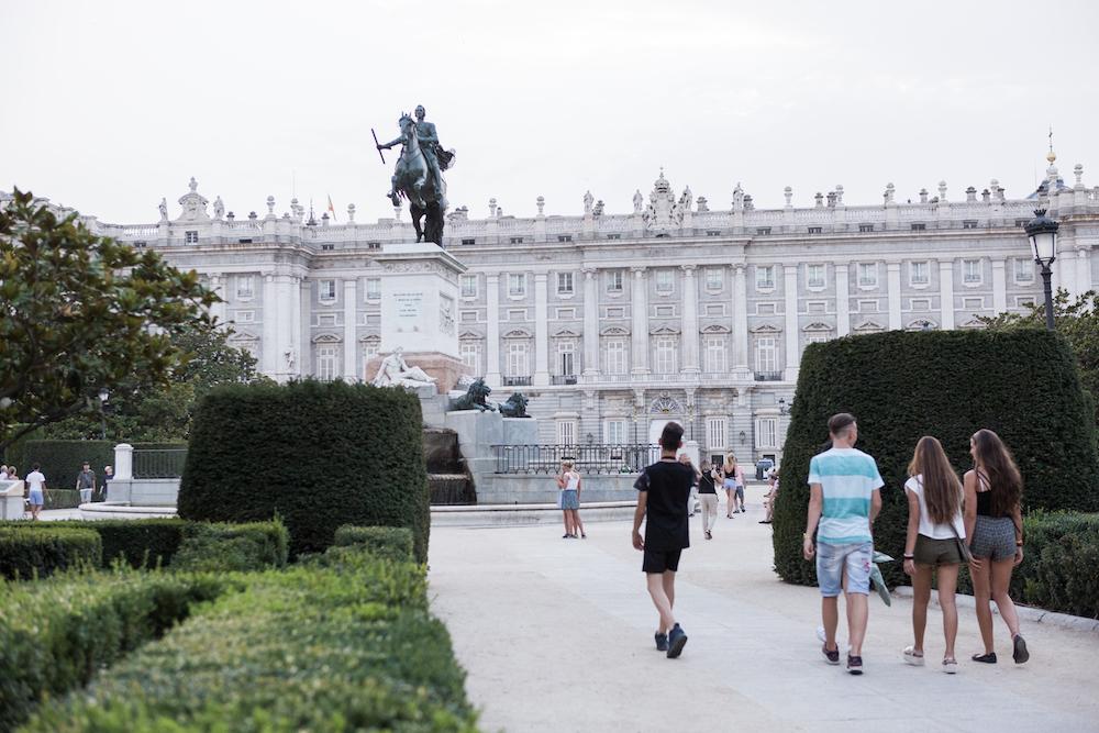 Madrid's magnificent Royal Palace. Photograph:  Mark Duggan