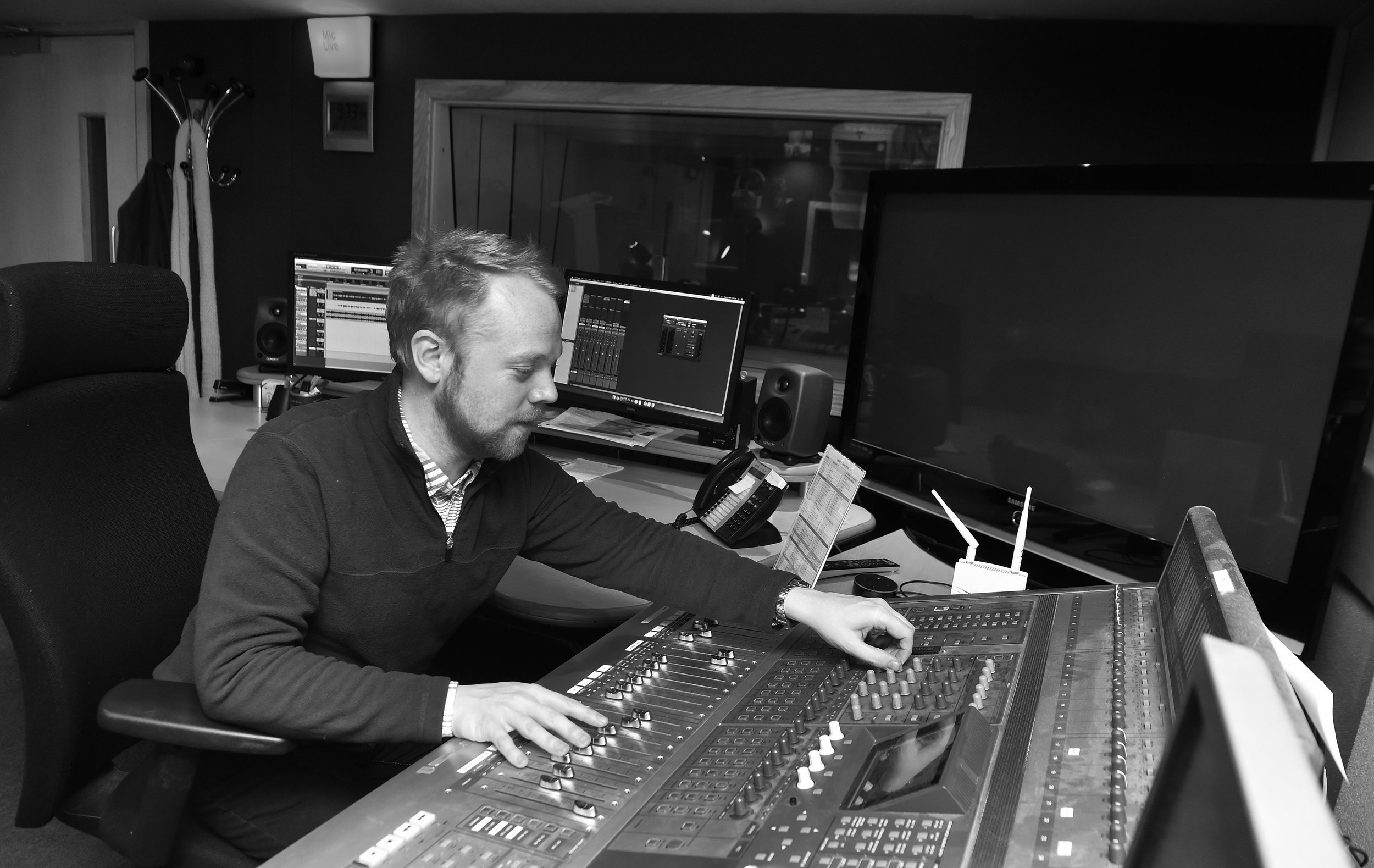 Studio One - Rec with engineer: £130 p/hSelf op: £110 p/hEditing and post production: £200 p/h