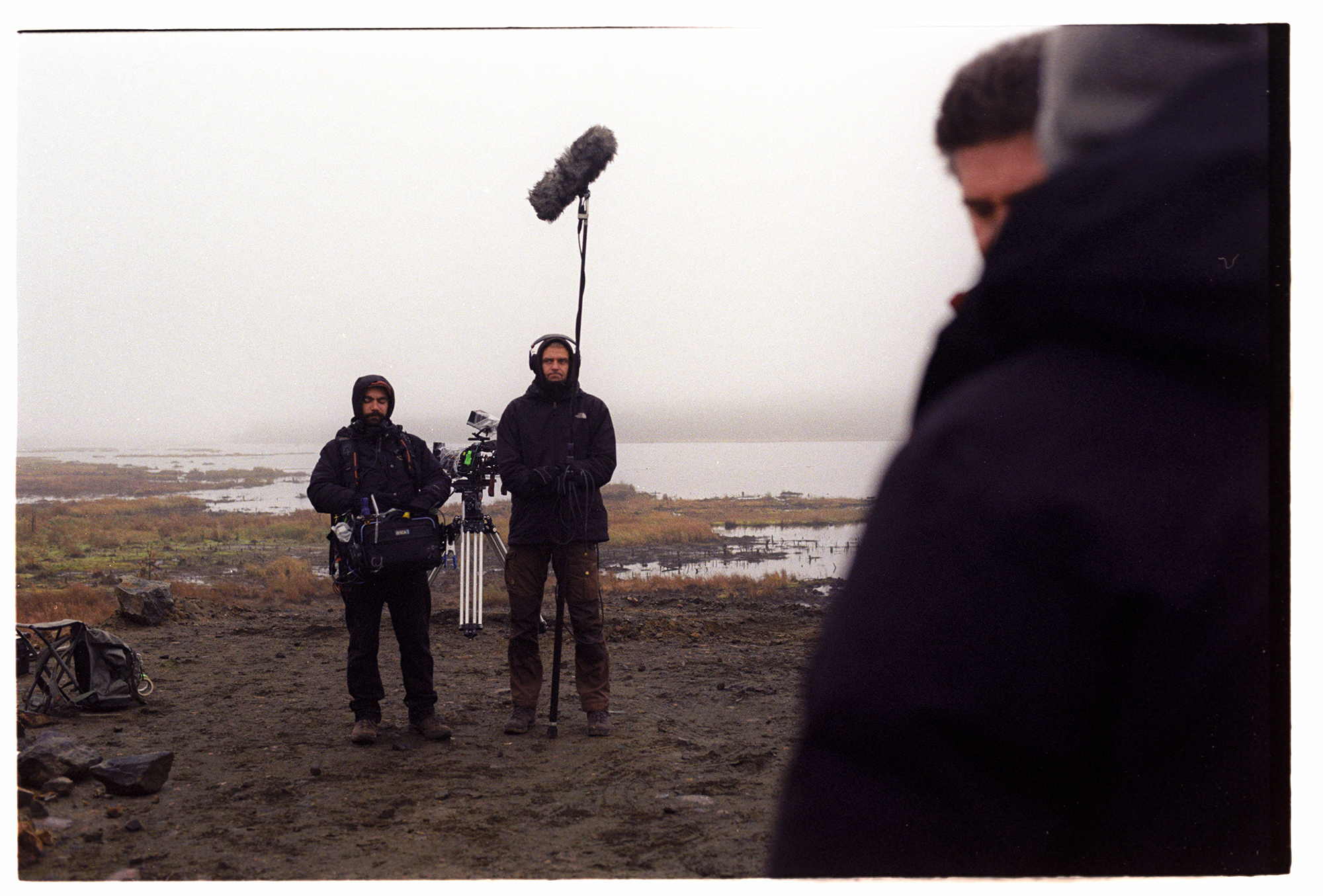 Shooting  Viimased  (The Last Ones) in Lapland (Finland). Photo by Teddy Puusepp