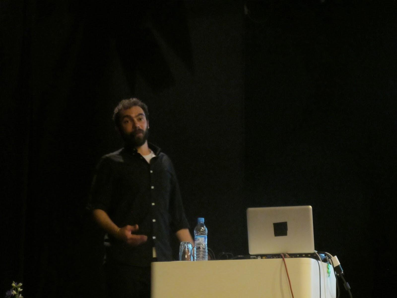 Lecture at IES Severo Ochoa (Tangier, Morocco)