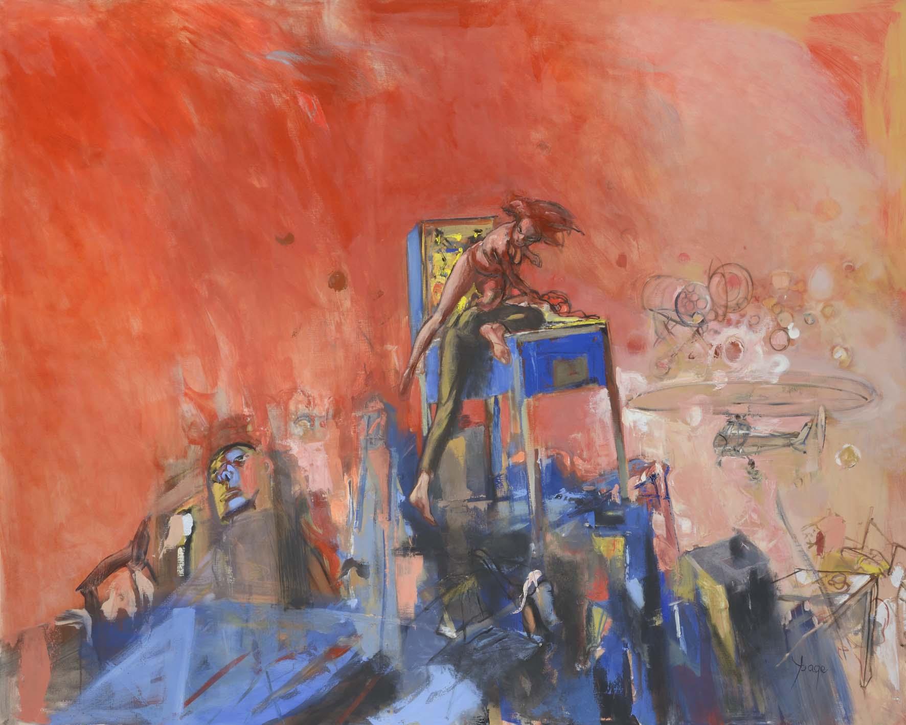 Apocalypse       Huile sur toile - 190x160 cm -
