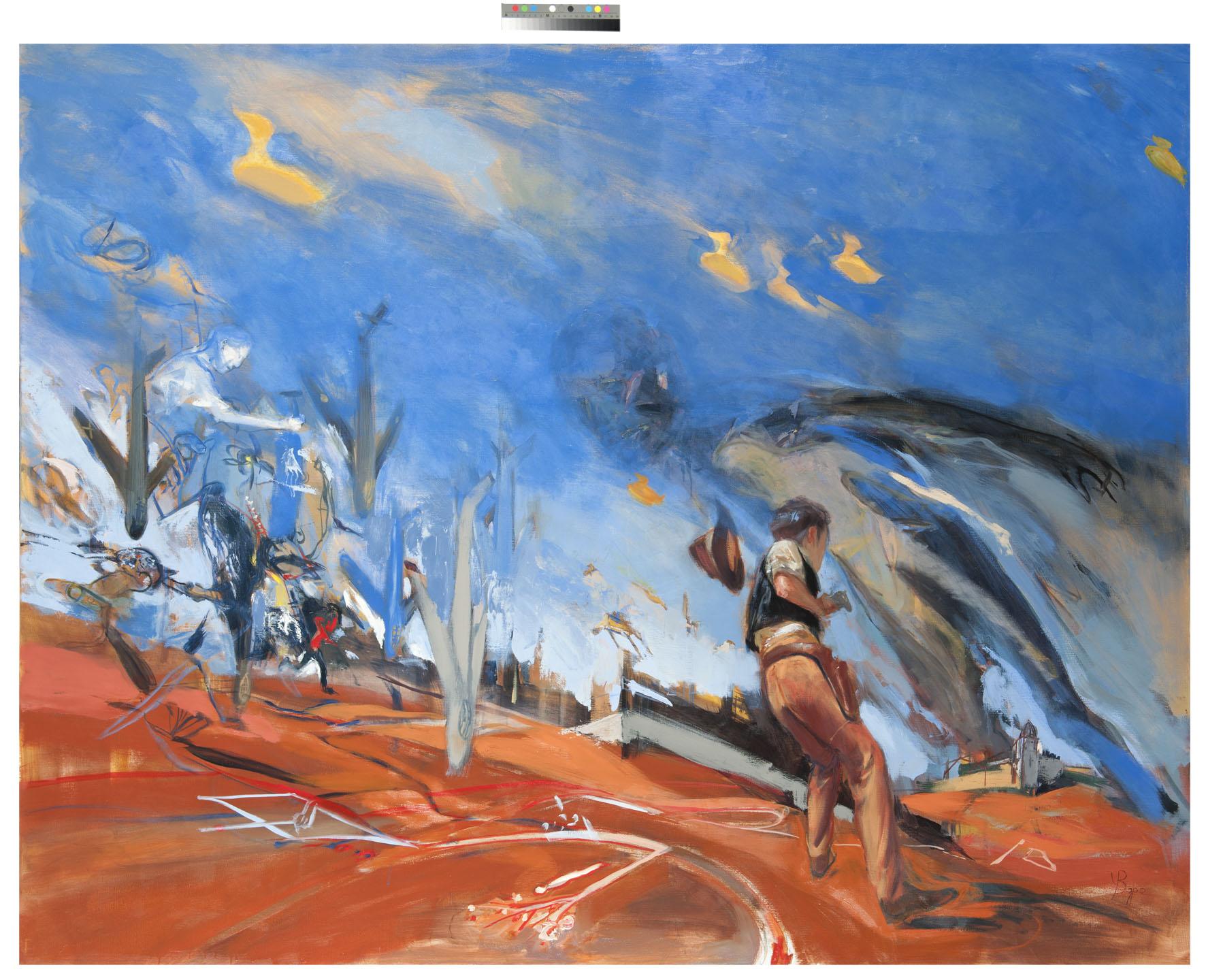 Arizona Duck  huile sur toile - 190x160 cm