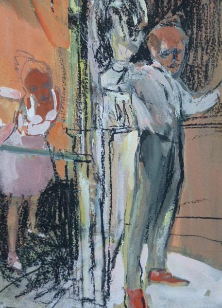 La danseuse - 18 x 23 cm