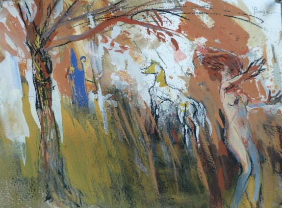 Saint Nicolas - 28 x 20 cm