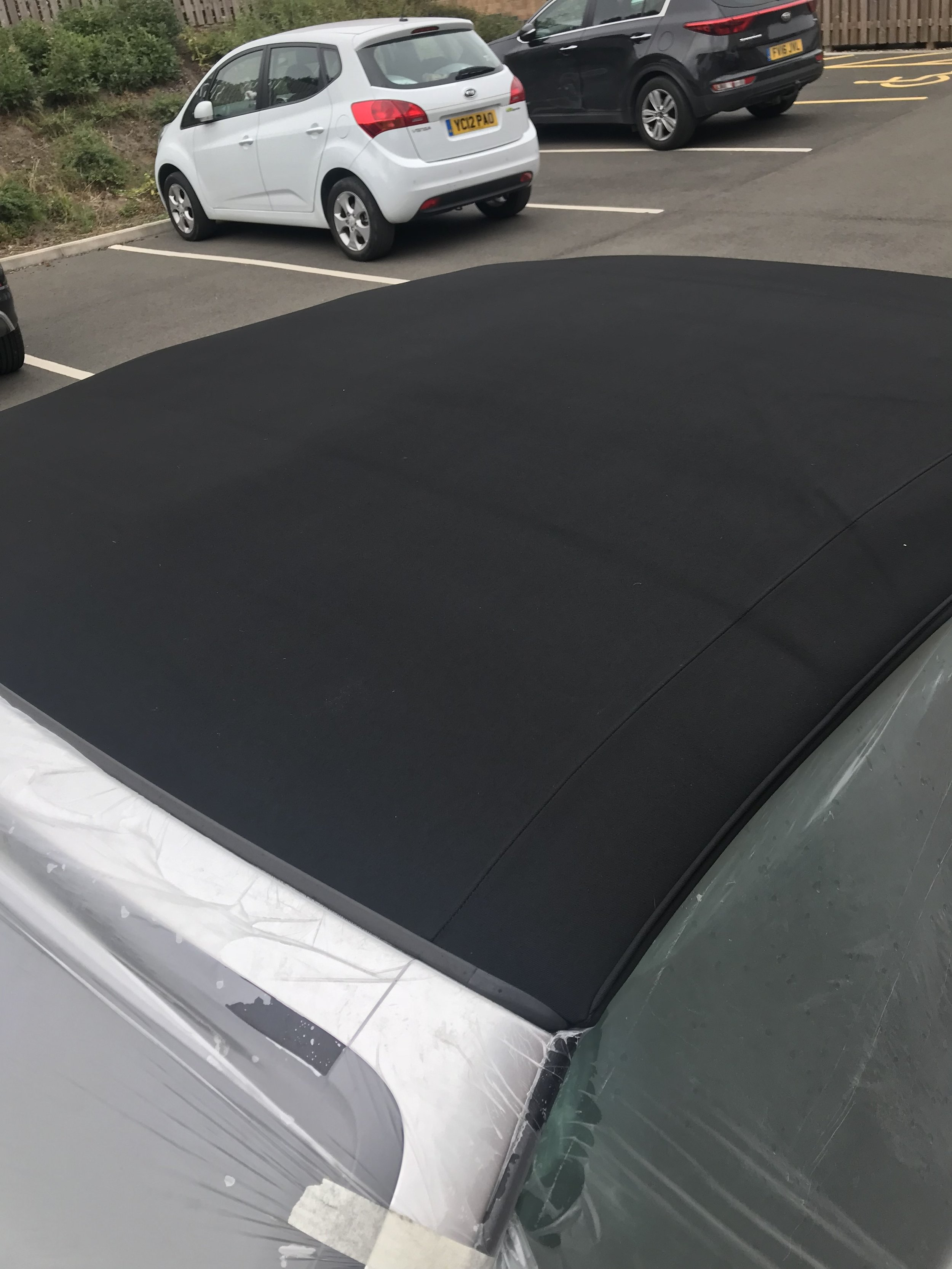 Cabriolet roof after