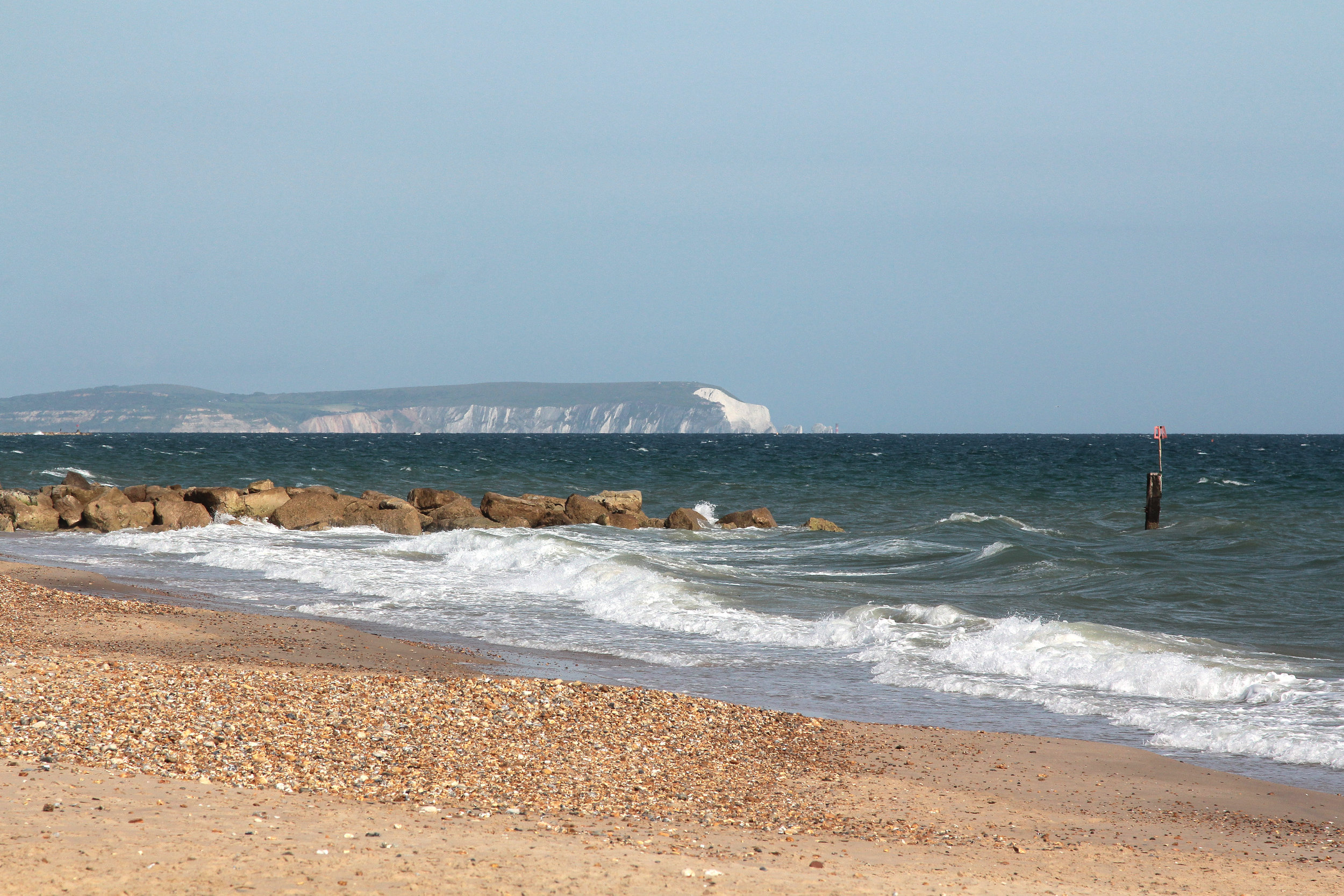 BreakPoint 'Marram' img22 -  Local View of coast with Isle of Wight (Polar Bear and Needles) beyond.jpg