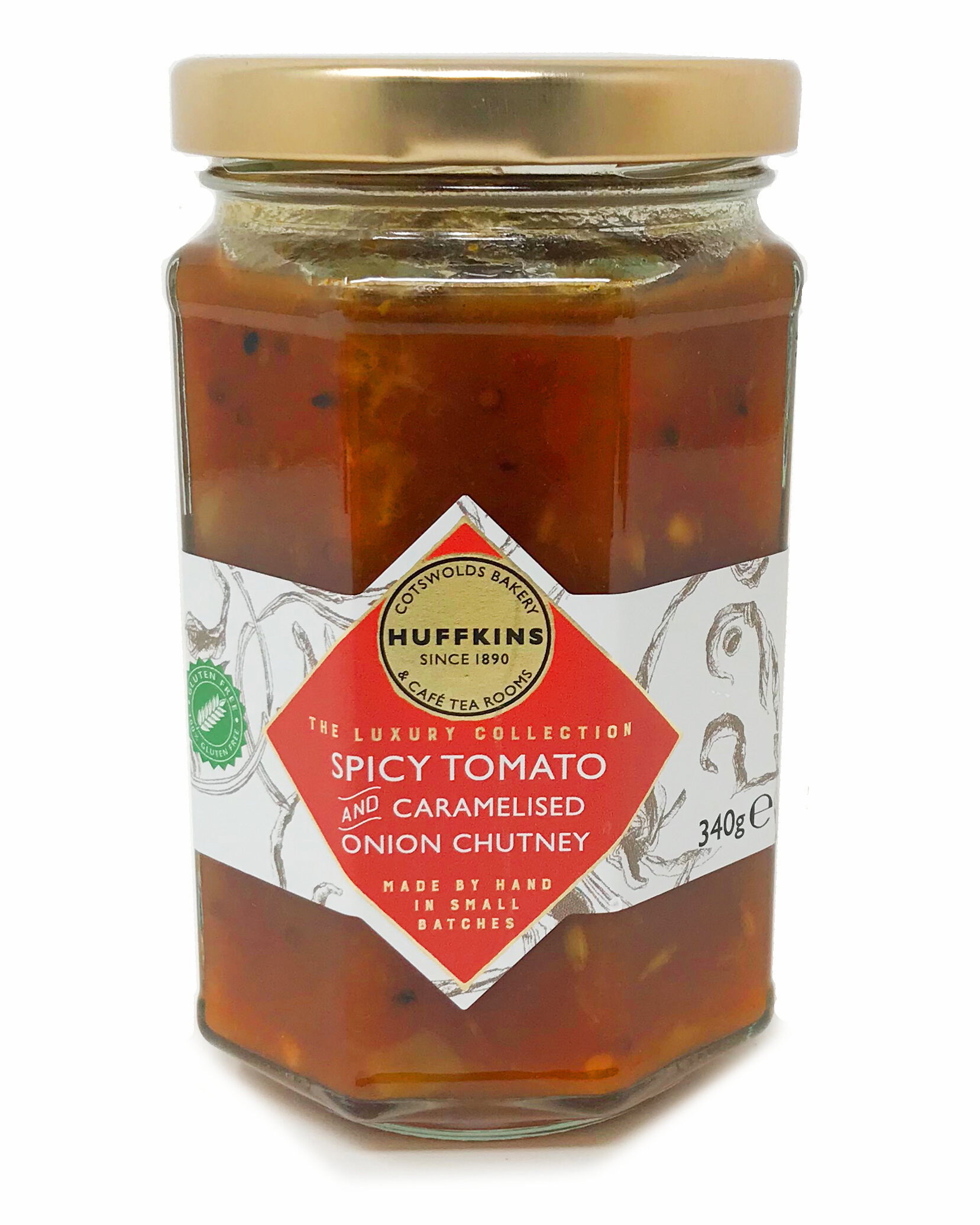 Most loved - Our spicy tomato & caramelised onion chutney.