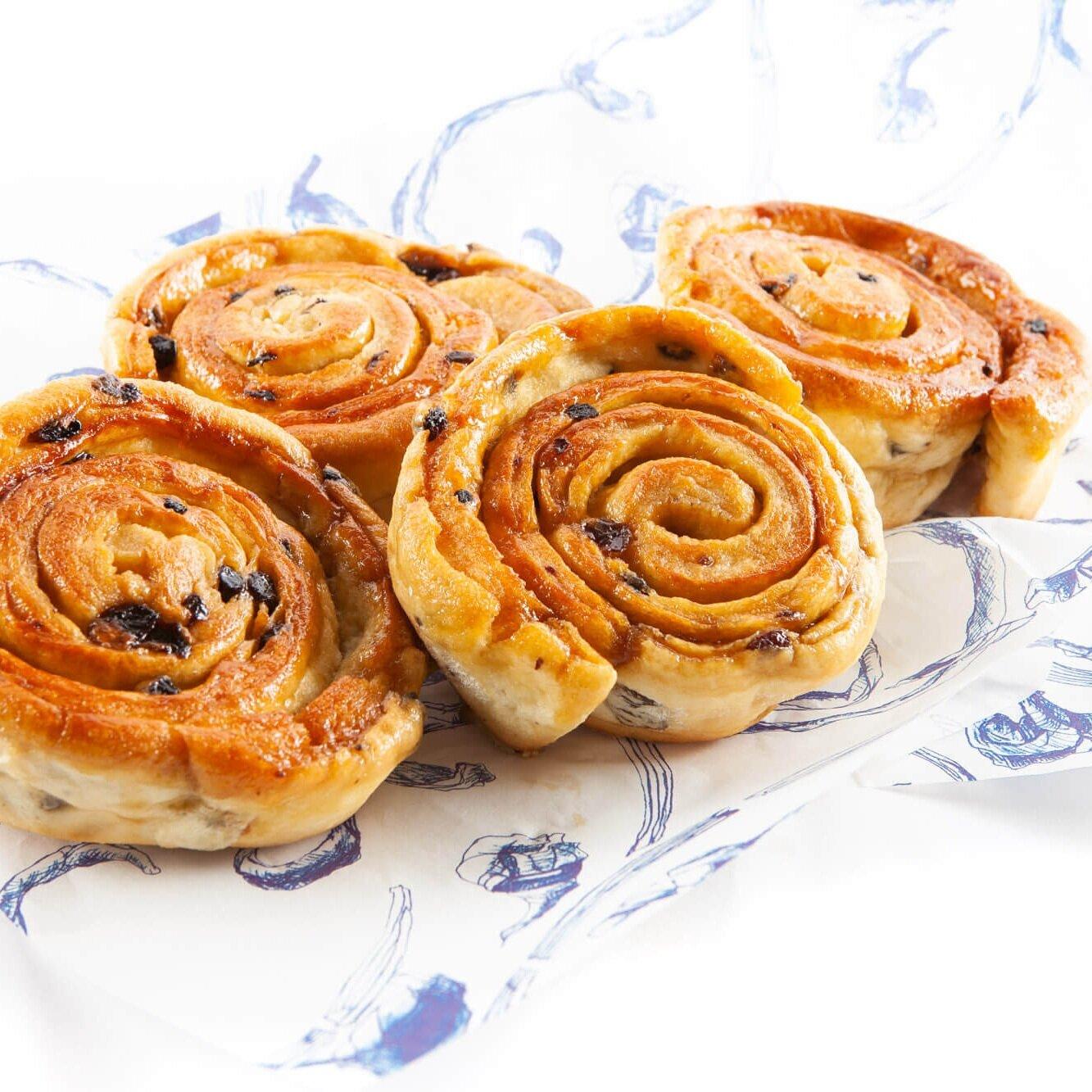 Freshly baked lardy cakes - A gentleman's true calling.