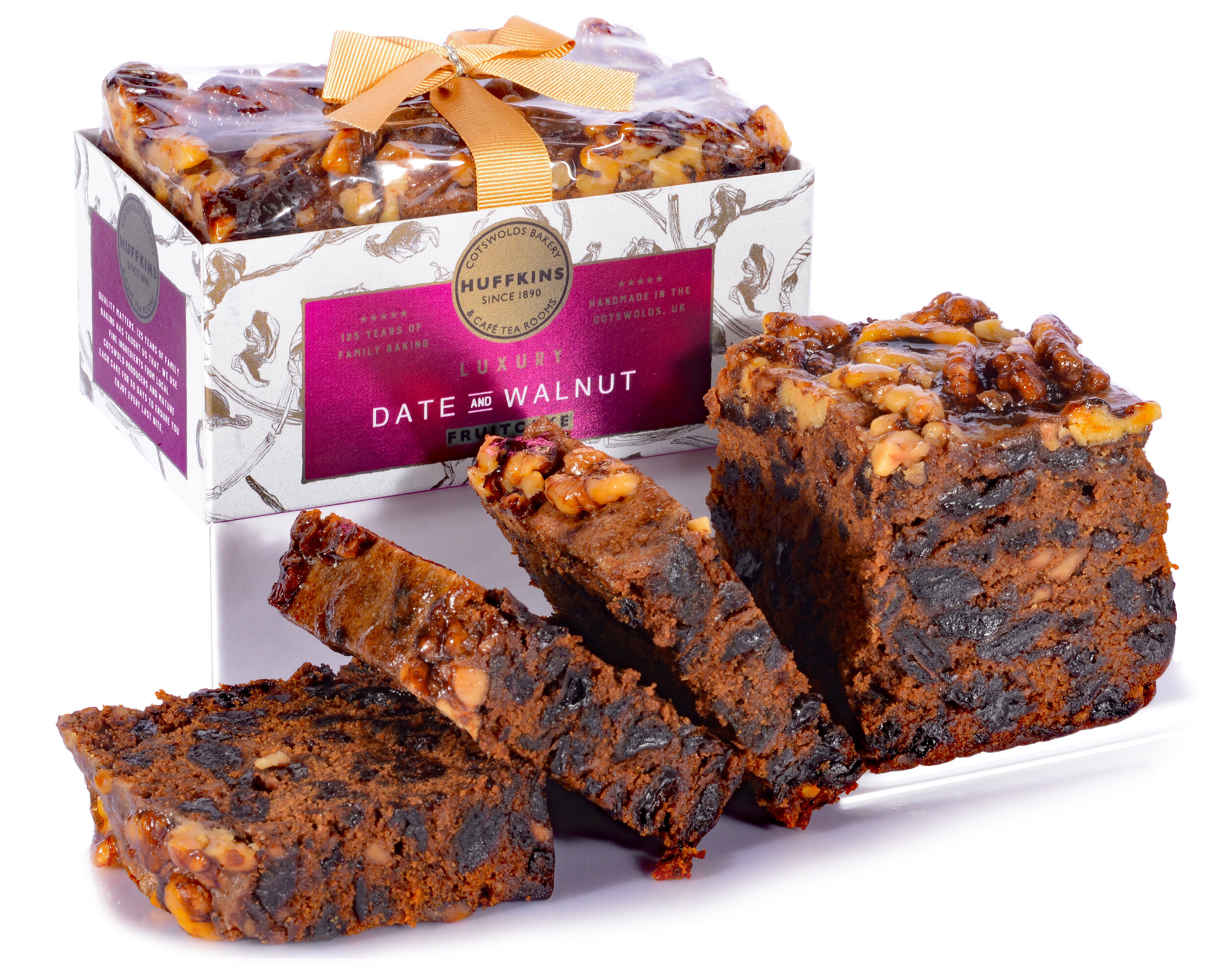 Luxury Gift Fruitcakes - The Gold Standard