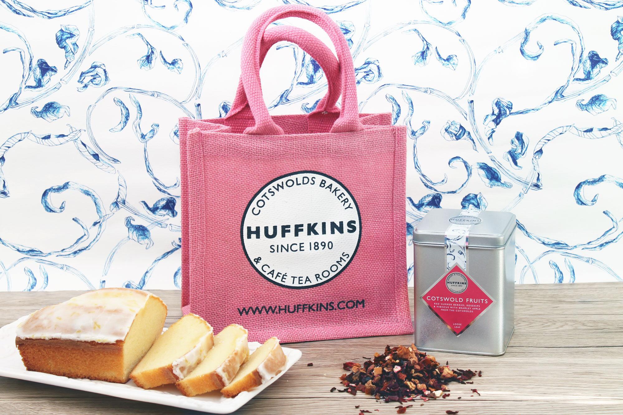 Tea Cake Gift Set Huffkins Bakery Free Uk Delivery