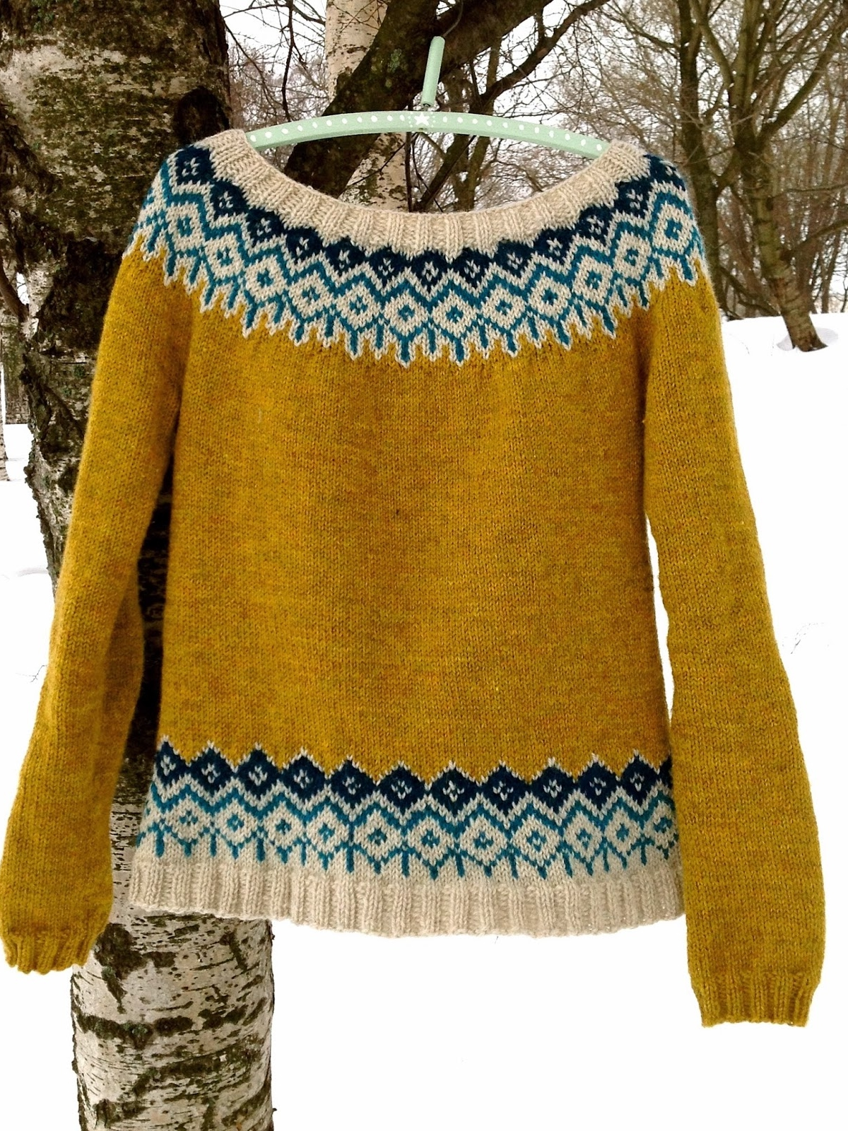 The Yellow Queen sweater
