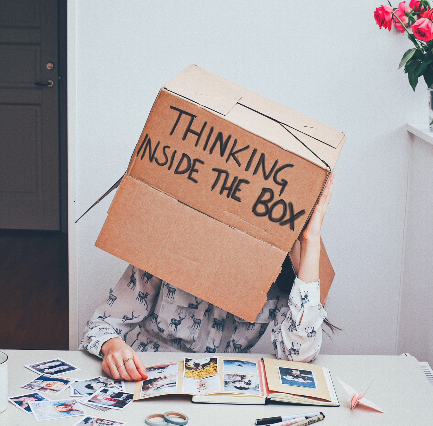 10 ways to boost your creativity- For when you feel like you're thinkng inside the box