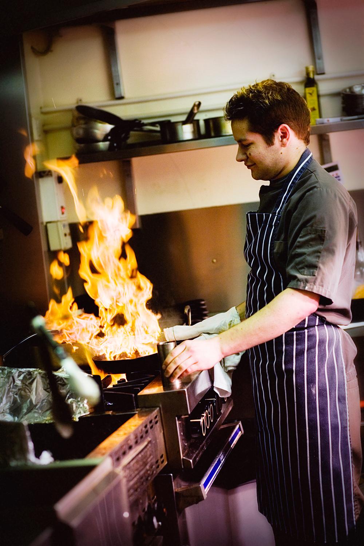 Flambe Chef