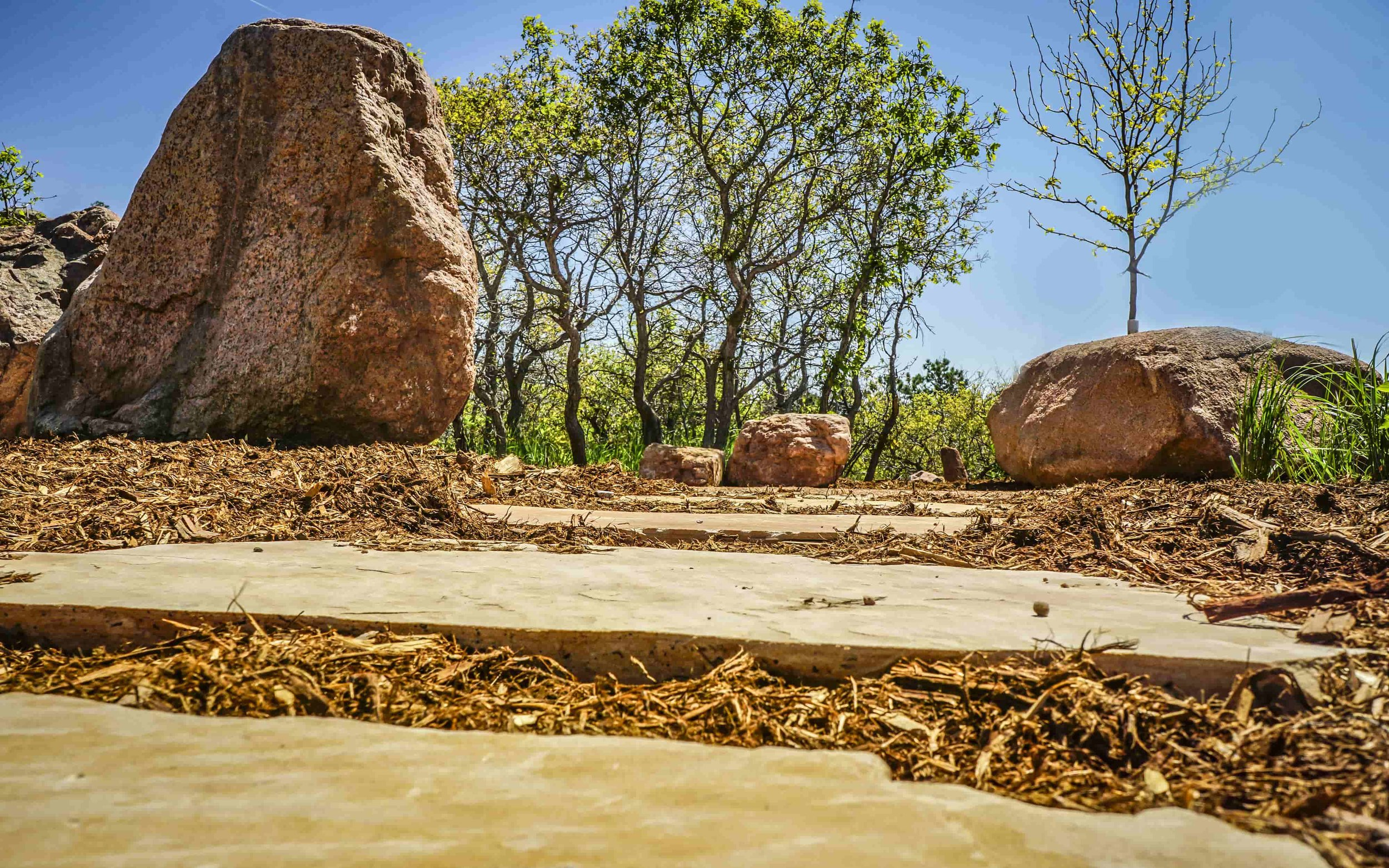 Decorative Boulders - From large to small, C&C has one of the largest selections of decorative boulders in Colorado.