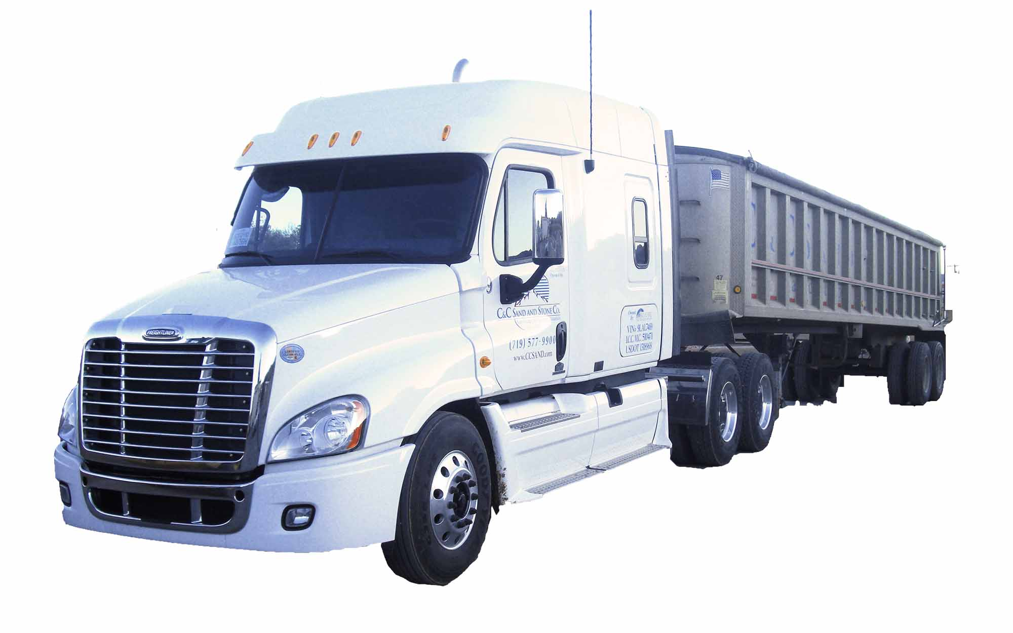 Delivery - Bobtail, tandem, semi and flat-bed block truck deliveries available.  From 1 ton to 24 tons!