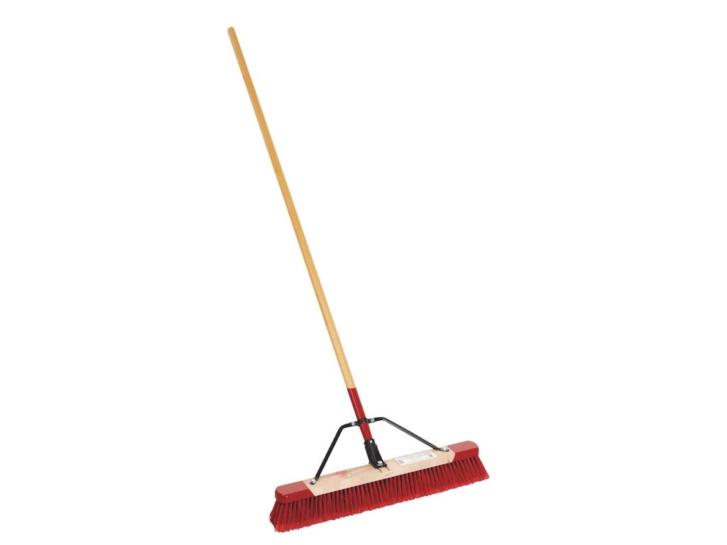 BROOM, 24 IN ALL PURPOSE DRY