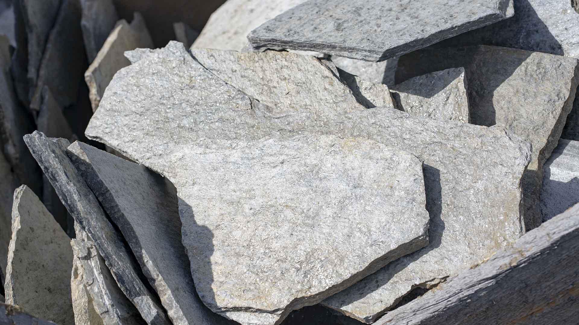 Silver Gold Quartzite Flagstone
