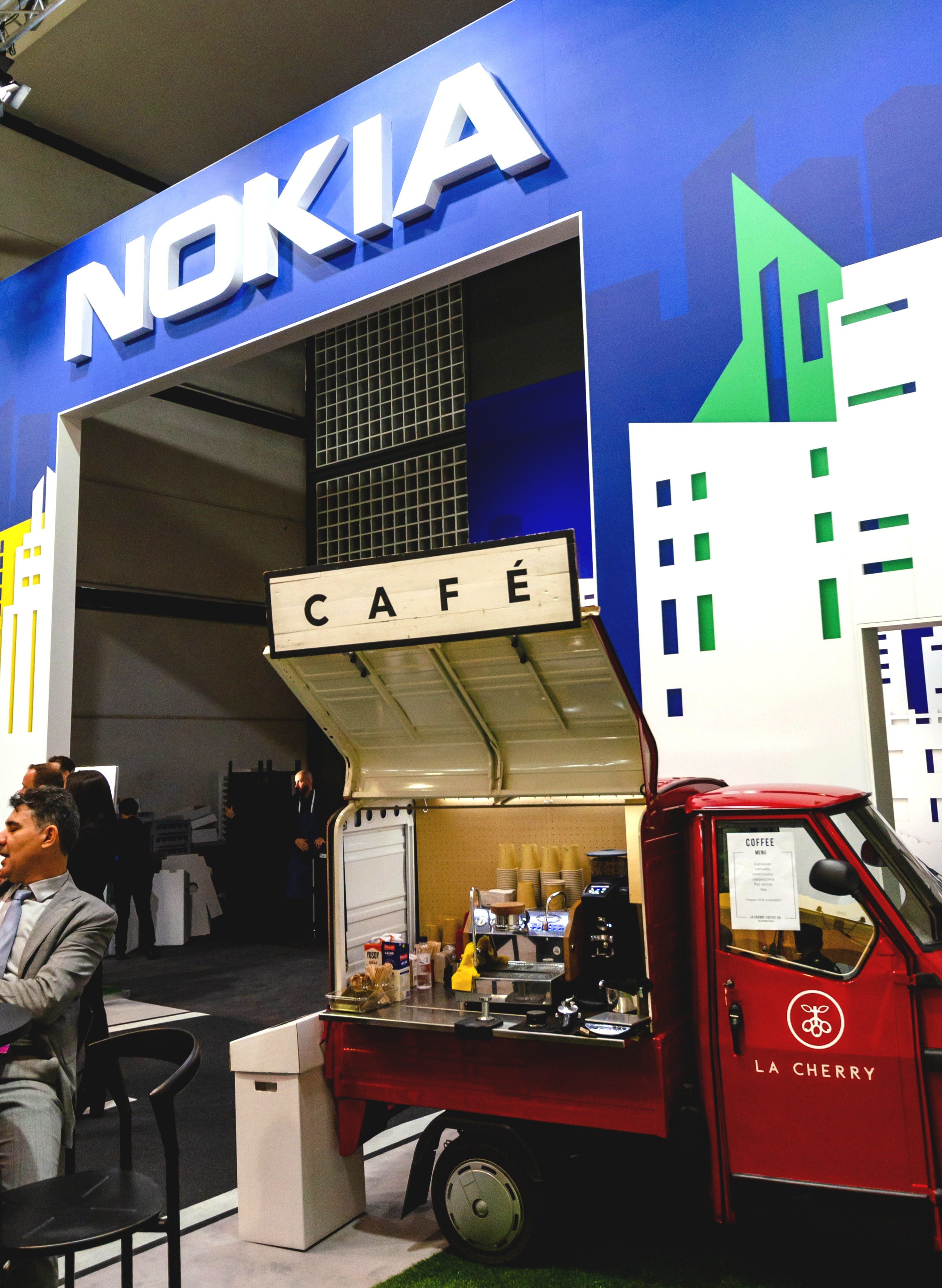 Mobile World Congress - This year we will be attending, for the second time, one of the biggest events in Spain; The Mobile World Congress. Our coffee truck will be located in three different spots of the event representing multinational brands.@nokia @telecoming #MWC19