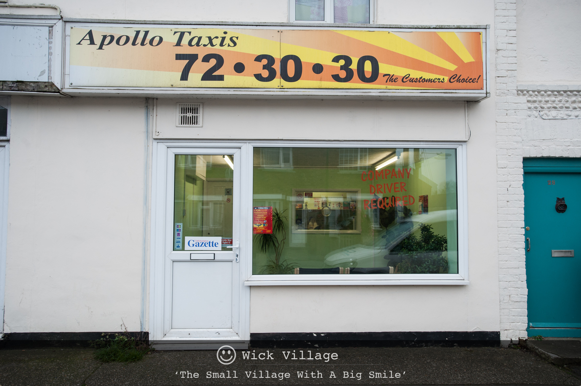 Apollo Taxis, Wick Village, Littlehampton.