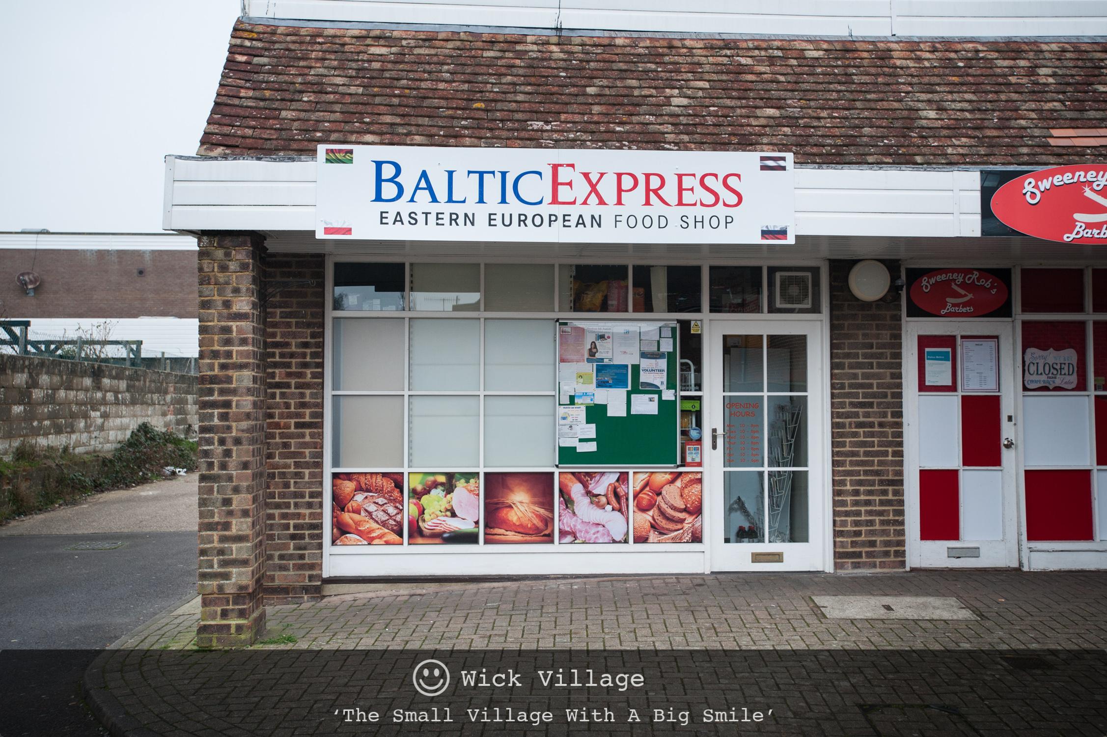 The Baltic Express, Wick Village, Littlehampton.