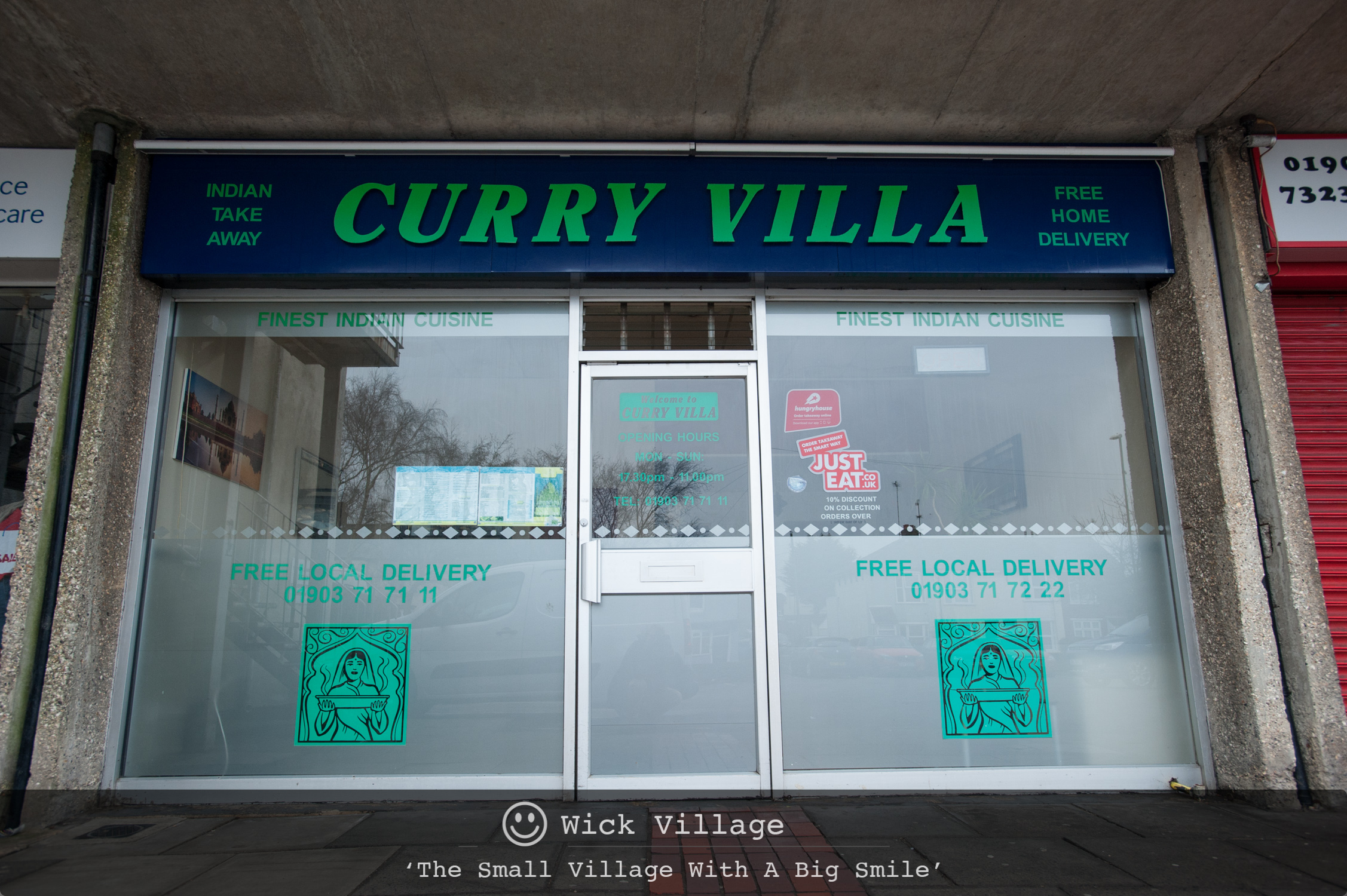Curry Villa, Wick Village, Littlehampton.
