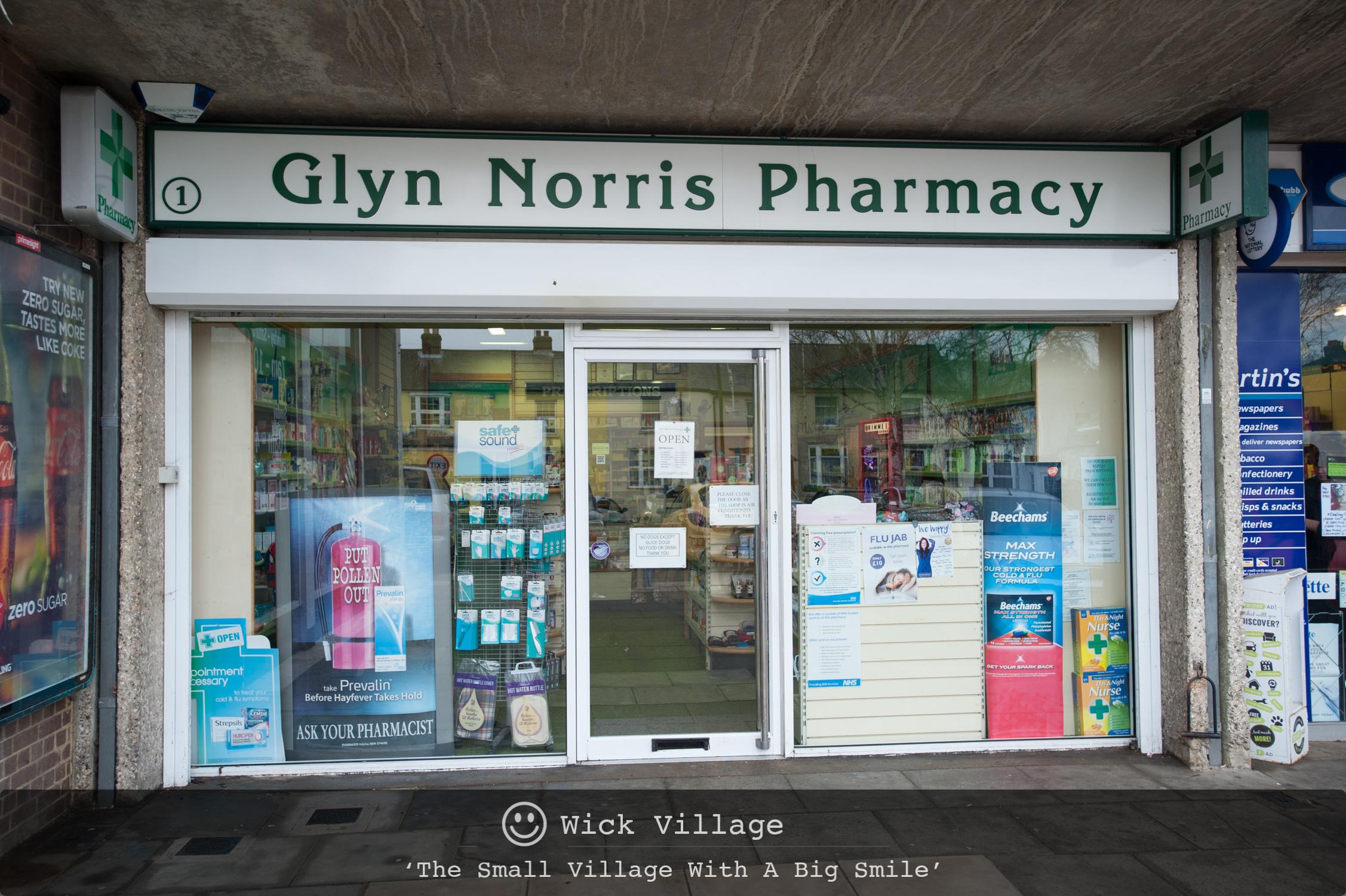 Glyn Norris Pharmacy, Wick Village, Littlehampton.