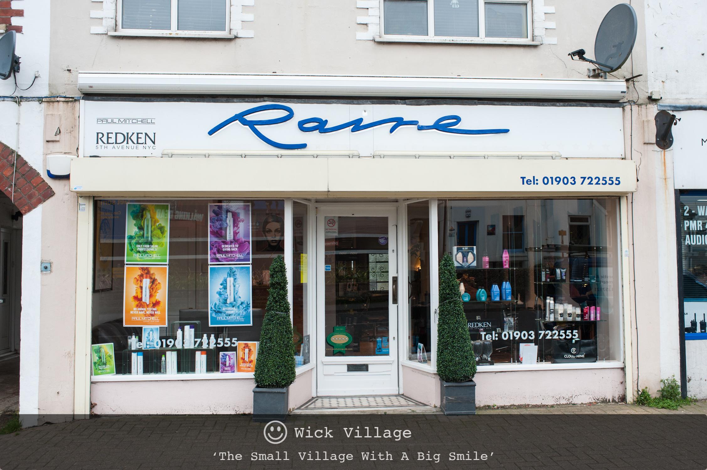 Raire Hairdressers, Wick Village, Littlehampton.