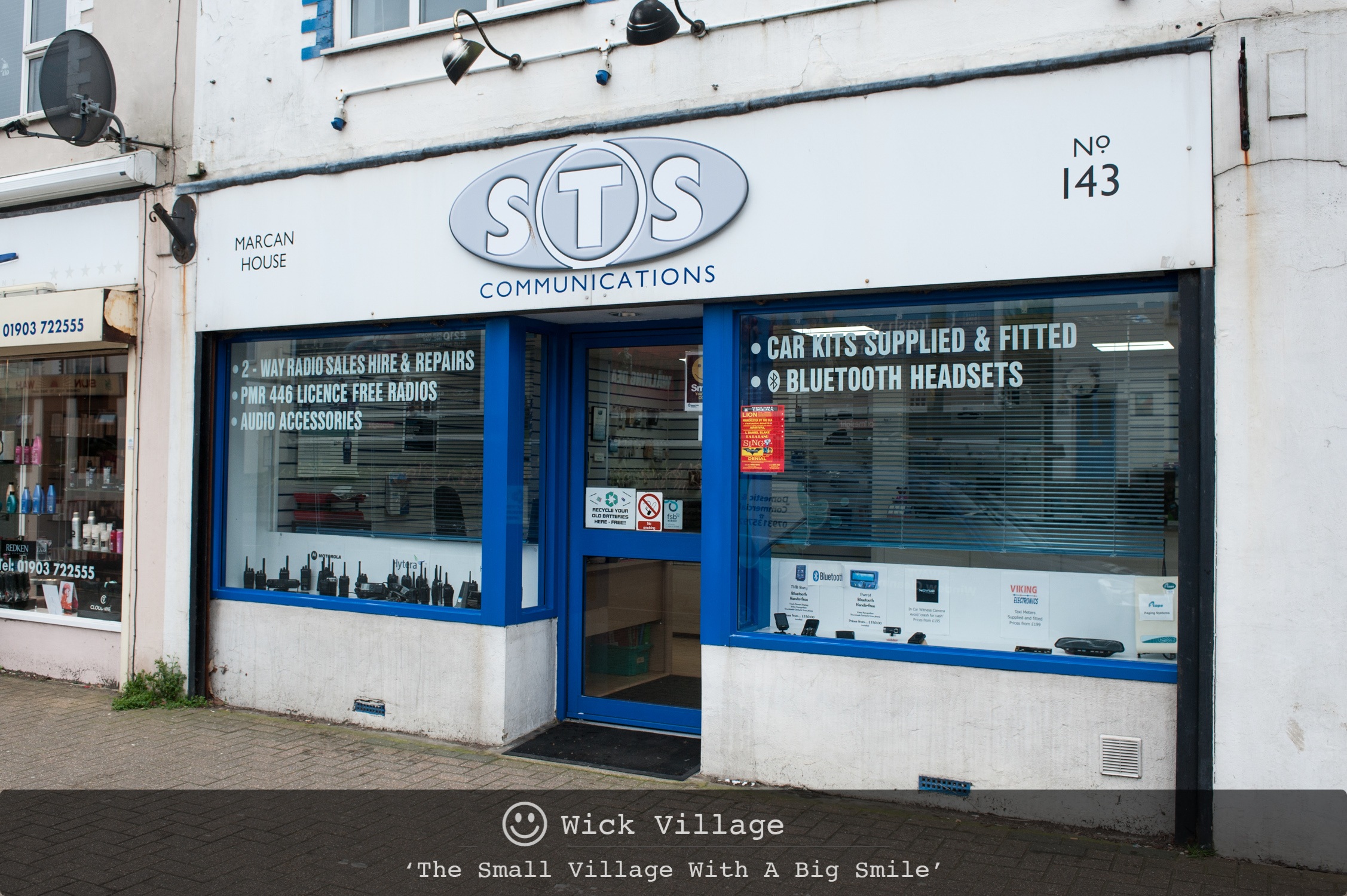 S.T.S Communications, Wick Village, Littlehampton.