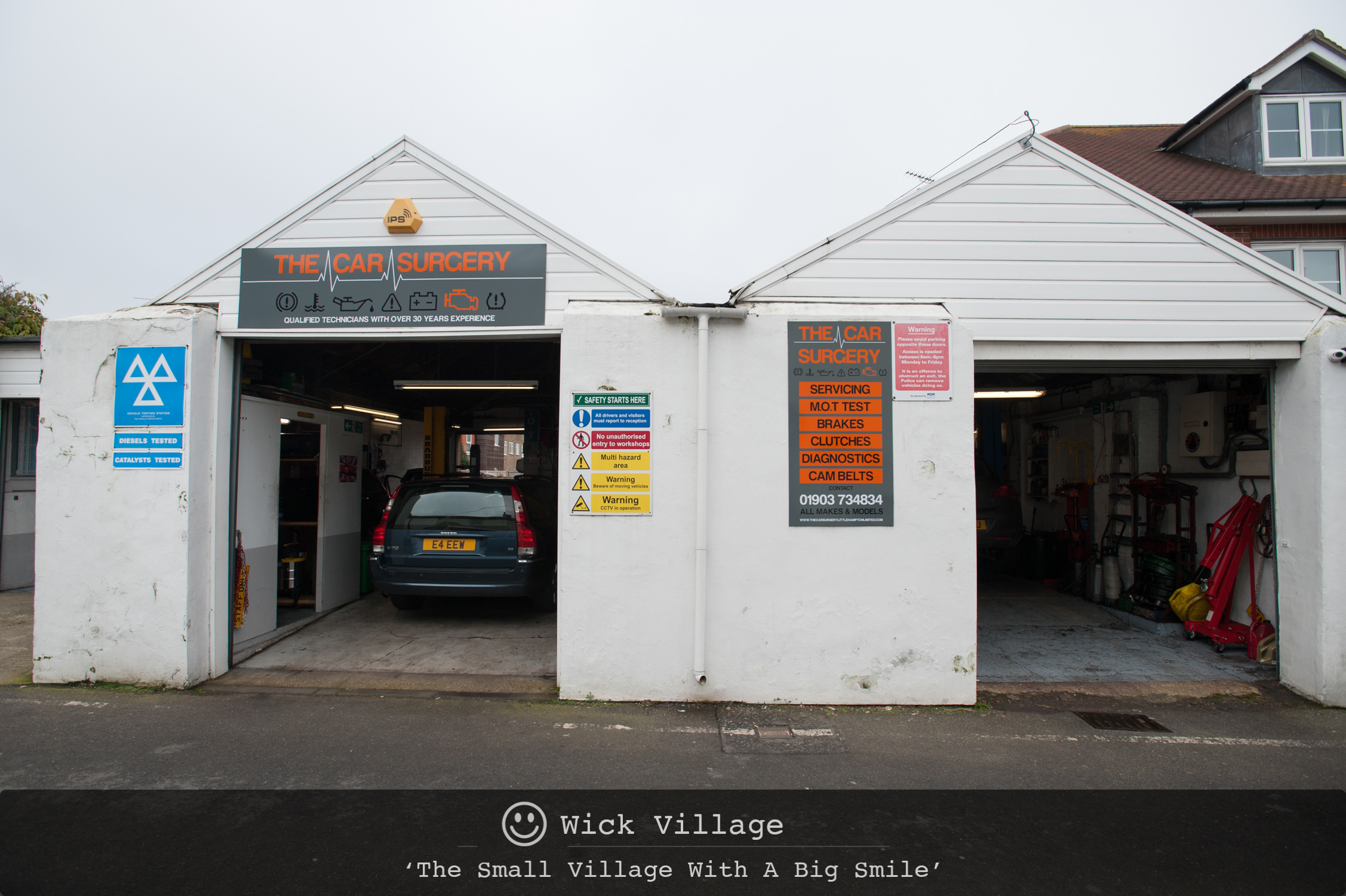 The Car Surgery, Wick Village, Littlehampton.
